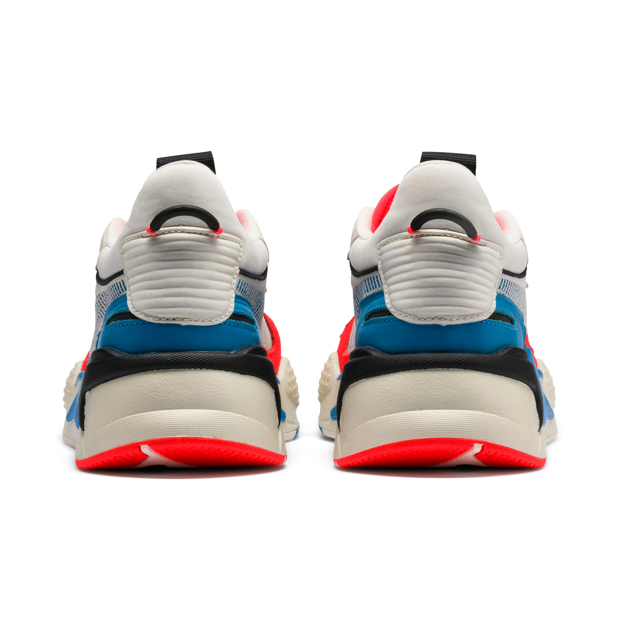 Thumbnail 3 of RS-X Reinvention Trainers, Whisper White-Red Blast, medium