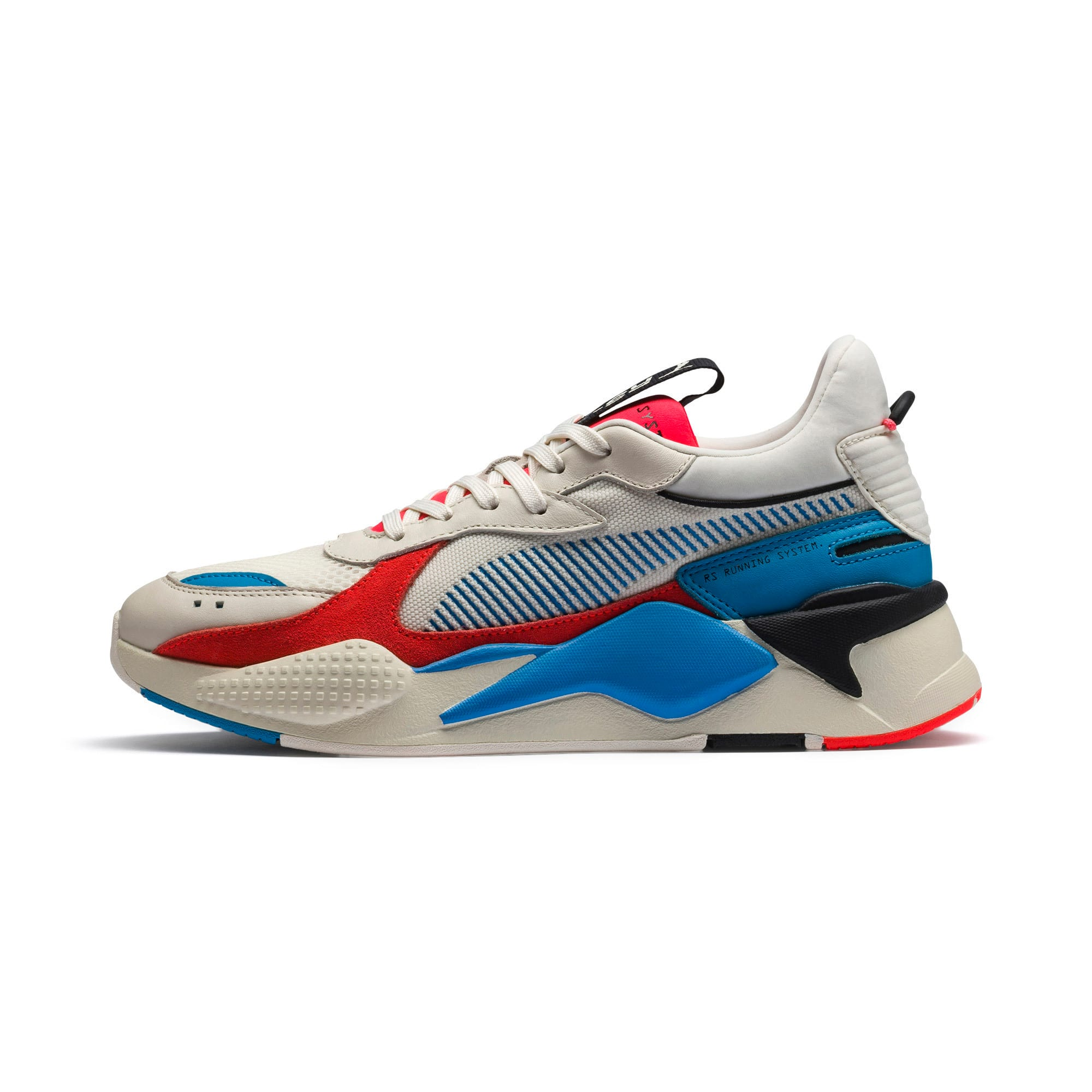 Thumbnail 1 of RS-X Reinvention Trainers, Whisper White-Red Blast, medium