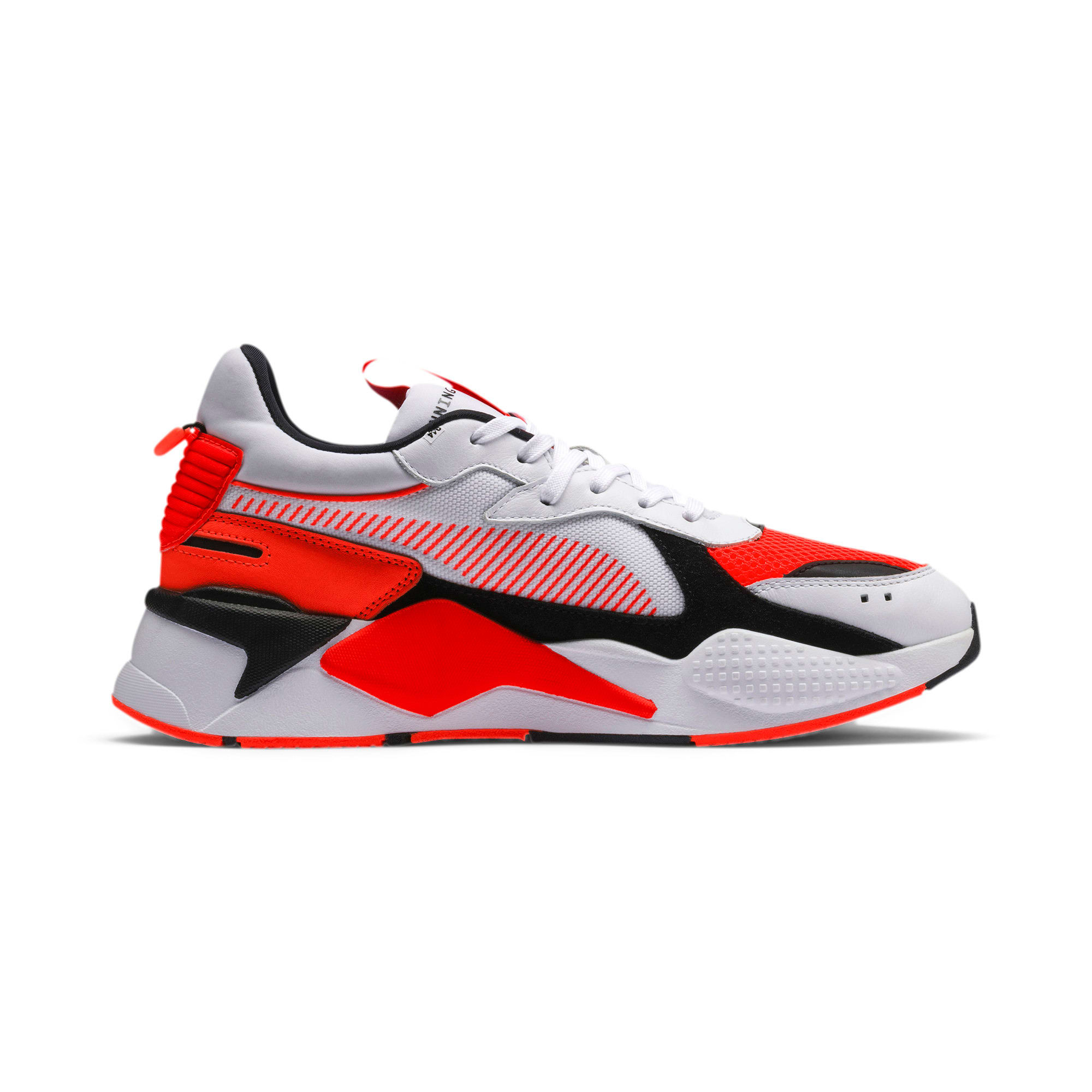 Thumbnail 7 of RS-X Reinvention Sneakers, Puma White-Red Blast, medium