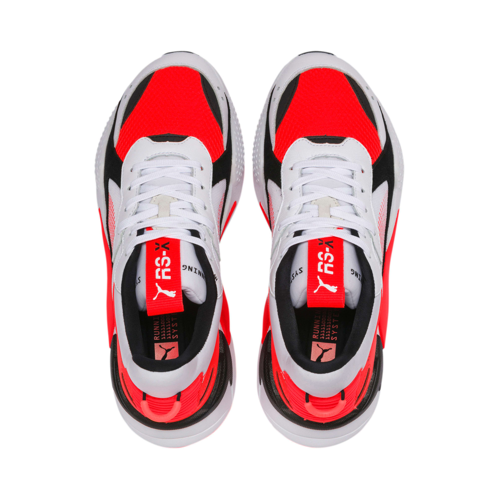 Thumbnail 8 of RS-X Reinvention Men's Sneakers, Puma White-Red Blast, medium