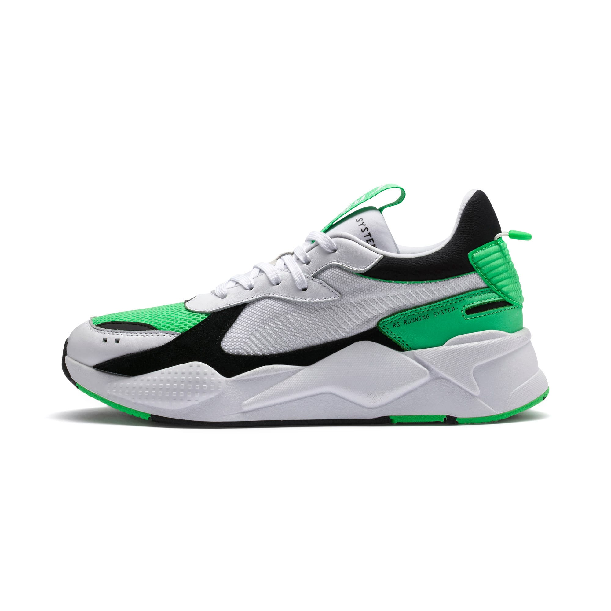 Thumbnail 1 of RS-X Reinvention Trainers, Puma White-Irish Green, medium