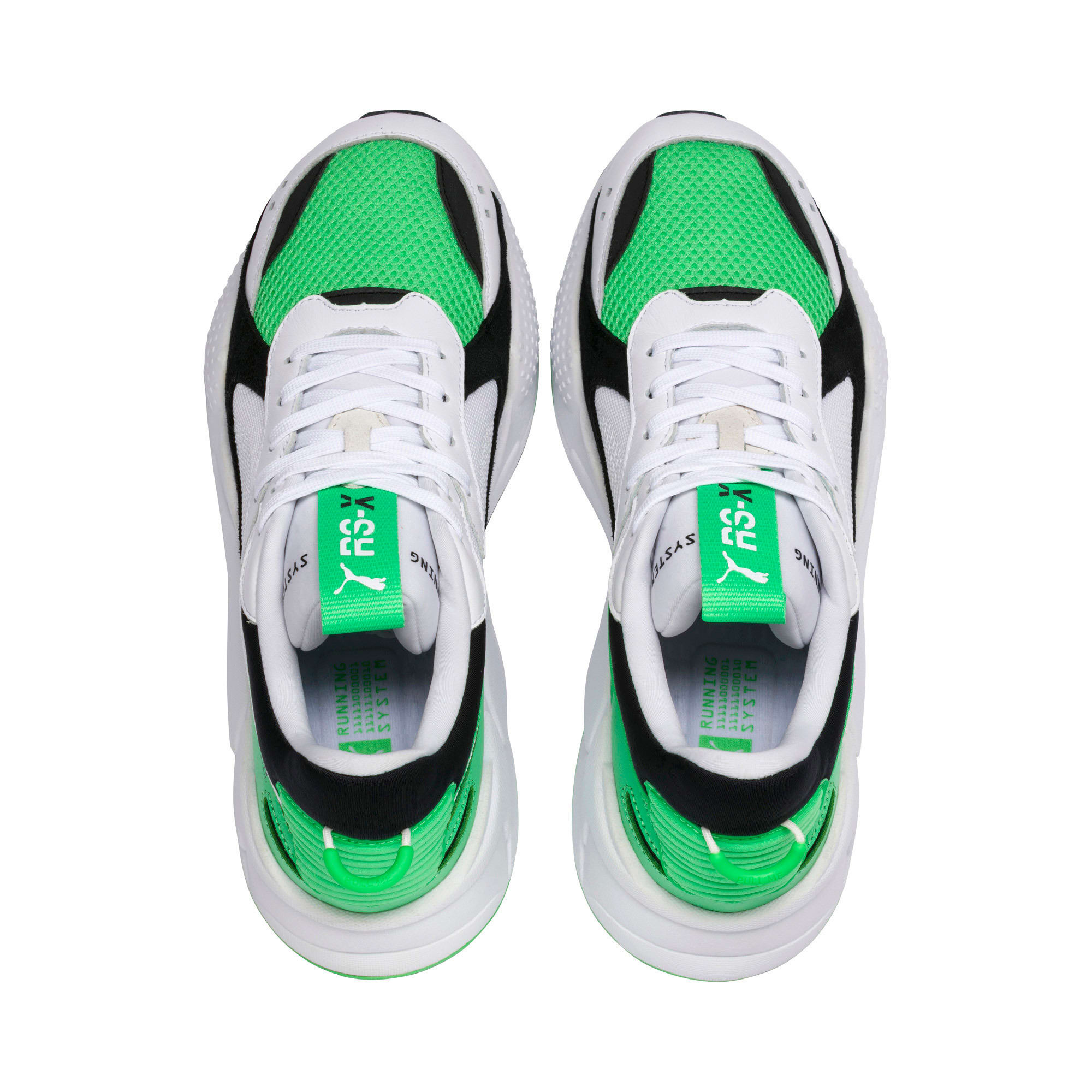 Thumbnail 7 of RS-X Reinvention Trainers, Puma White-Irish Green, medium