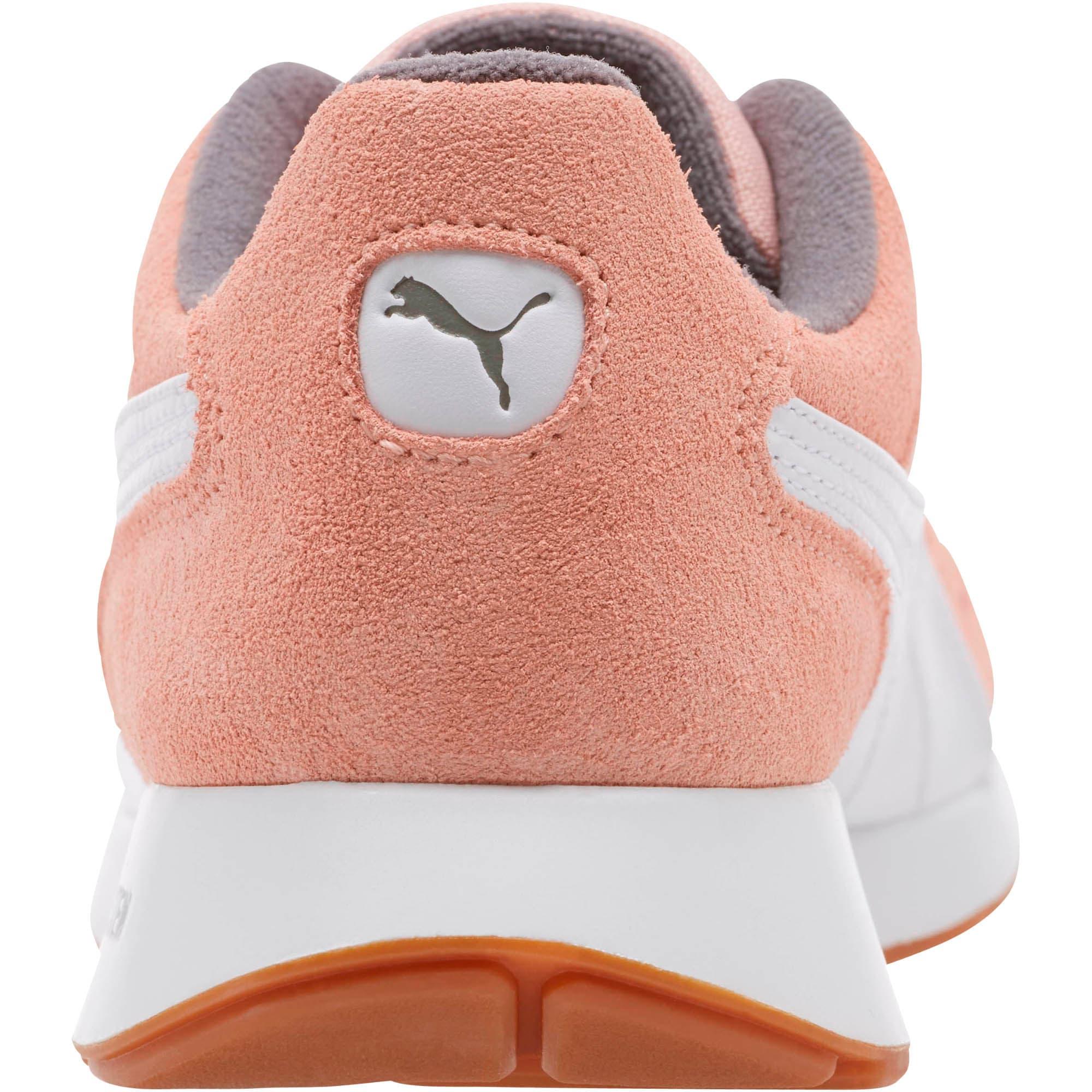Thumbnail 4 of RS-150 Nylon Women's Sneakers, Coral Cloud-Puma White, medium
