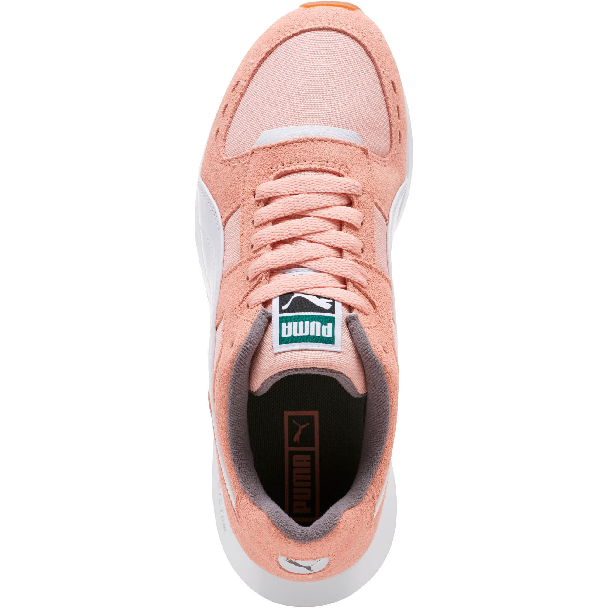 Thumbnail 5 of RS-150 Nylon Women's Sneakers, Coral Cloud-Puma White, medium