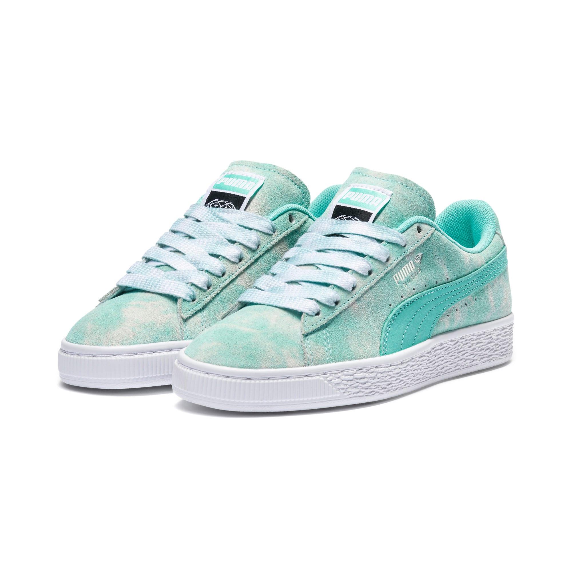 Miniatura 2 de Zapatos deportivosPUMA x DIAMOND SUPPLY CO. Suede JR, Diamond Blue-Diamond Blue, mediano
