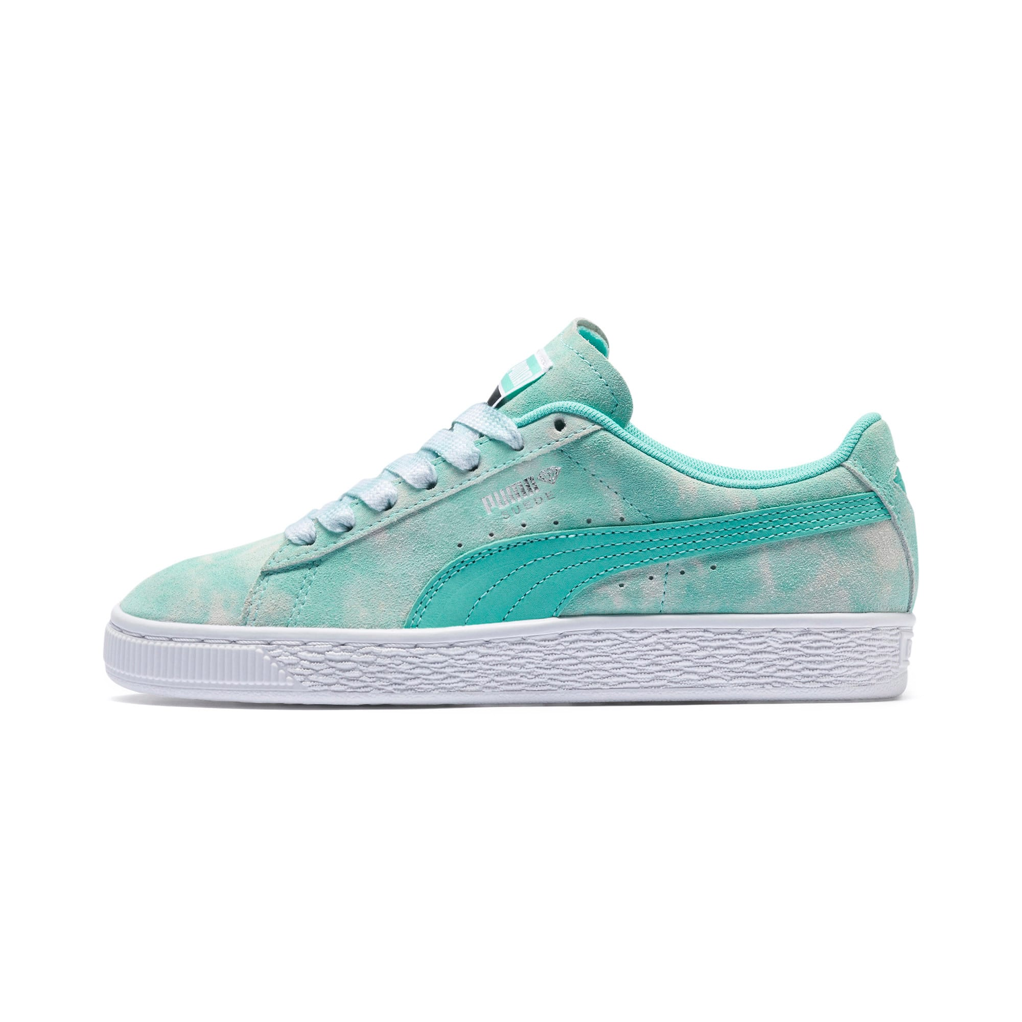 Miniatura 1 de Zapatos deportivosPUMA x DIAMOND SUPPLY CO. Suede JR, Diamond Blue-Diamond Blue, mediano