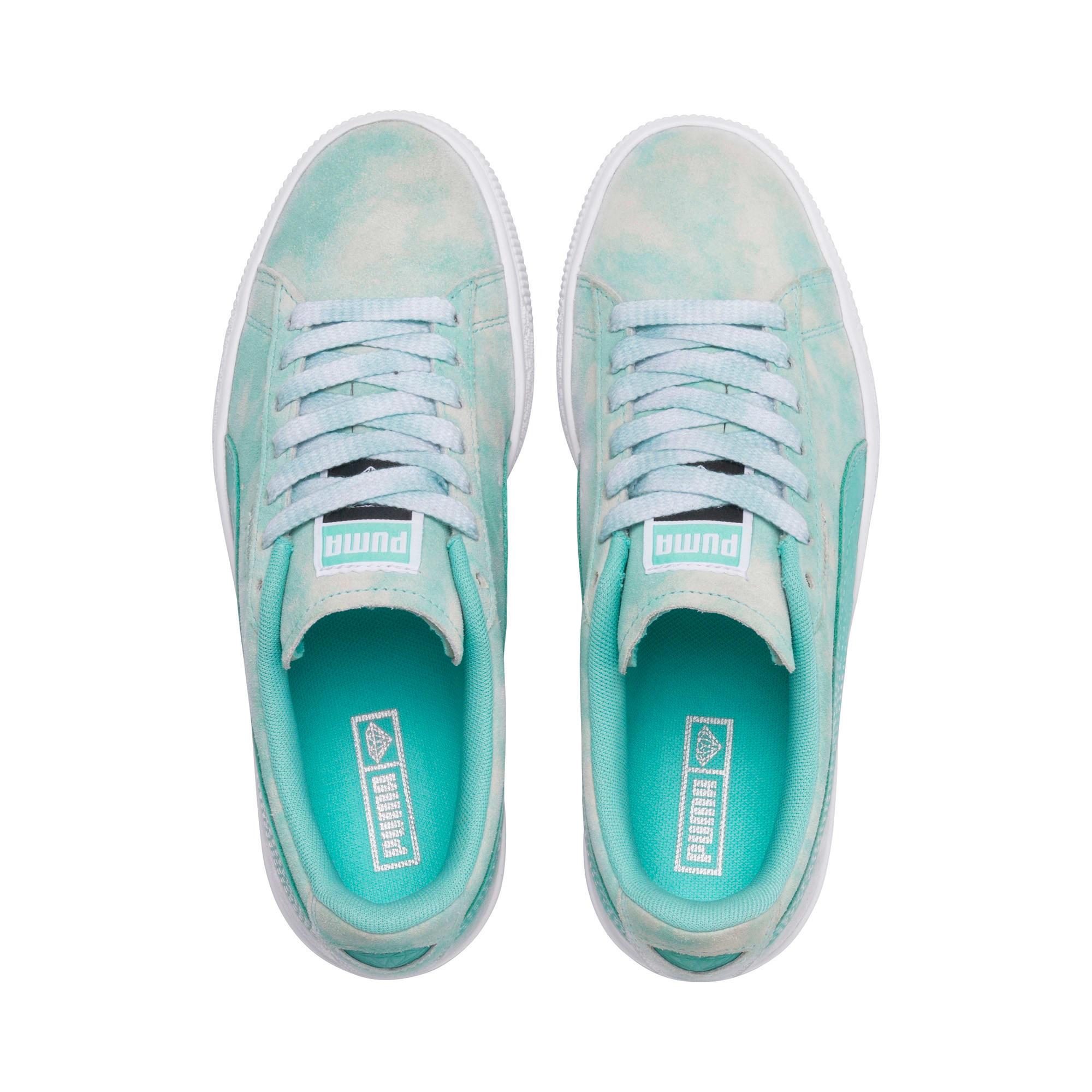 Miniatura 6 de Zapatos deportivosPUMA x DIAMOND SUPPLY CO. Suede JR, Diamond Blue-Diamond Blue, mediano