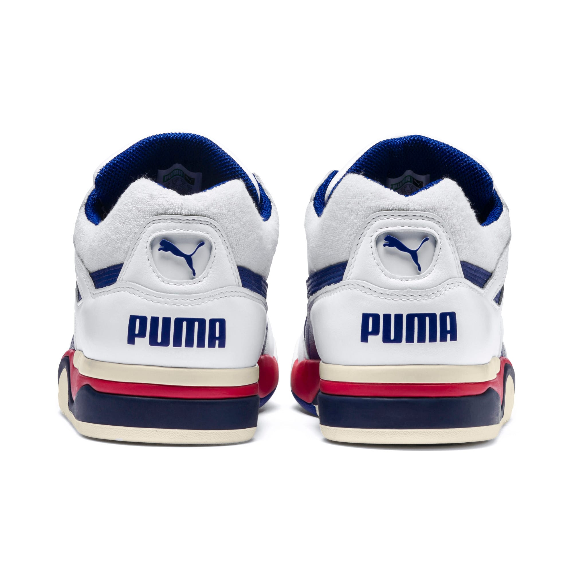 Thumbnail 3 of Palace Guard OG Sneakers, Puma White-Surf The Web-Red, medium