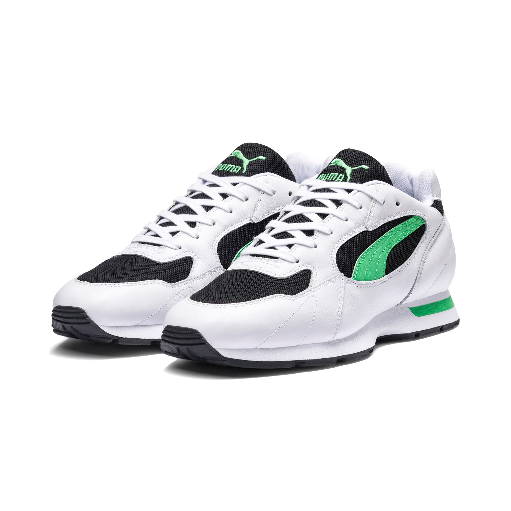 Thumbnail 2 of Proclaim Men's Sneakers, Puma White-Irish Green, medium