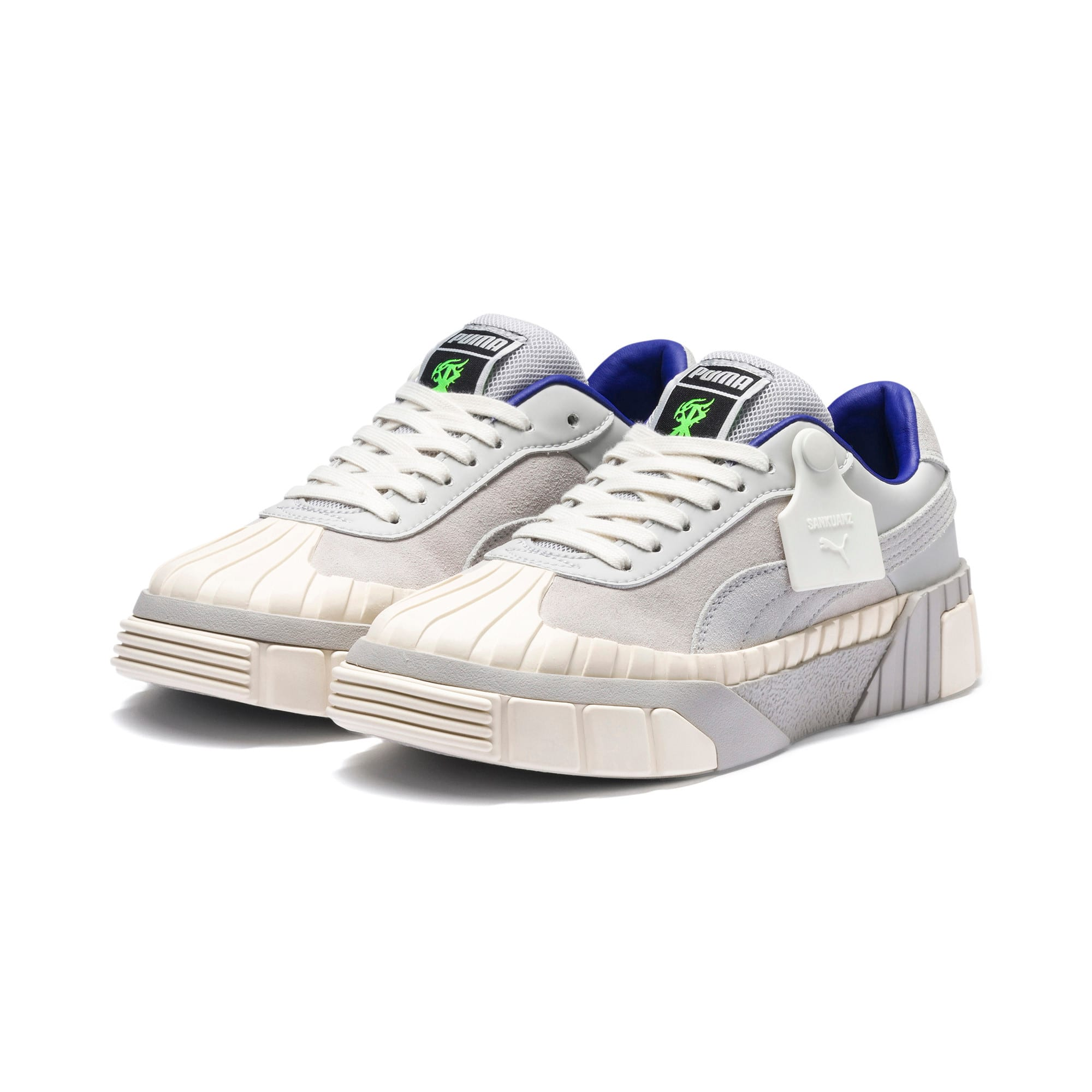 Thumbnail 5 of PUMA x SANKUANZ CALI WOMEN'S, Gray Violet-Whisper White, medium-JPN