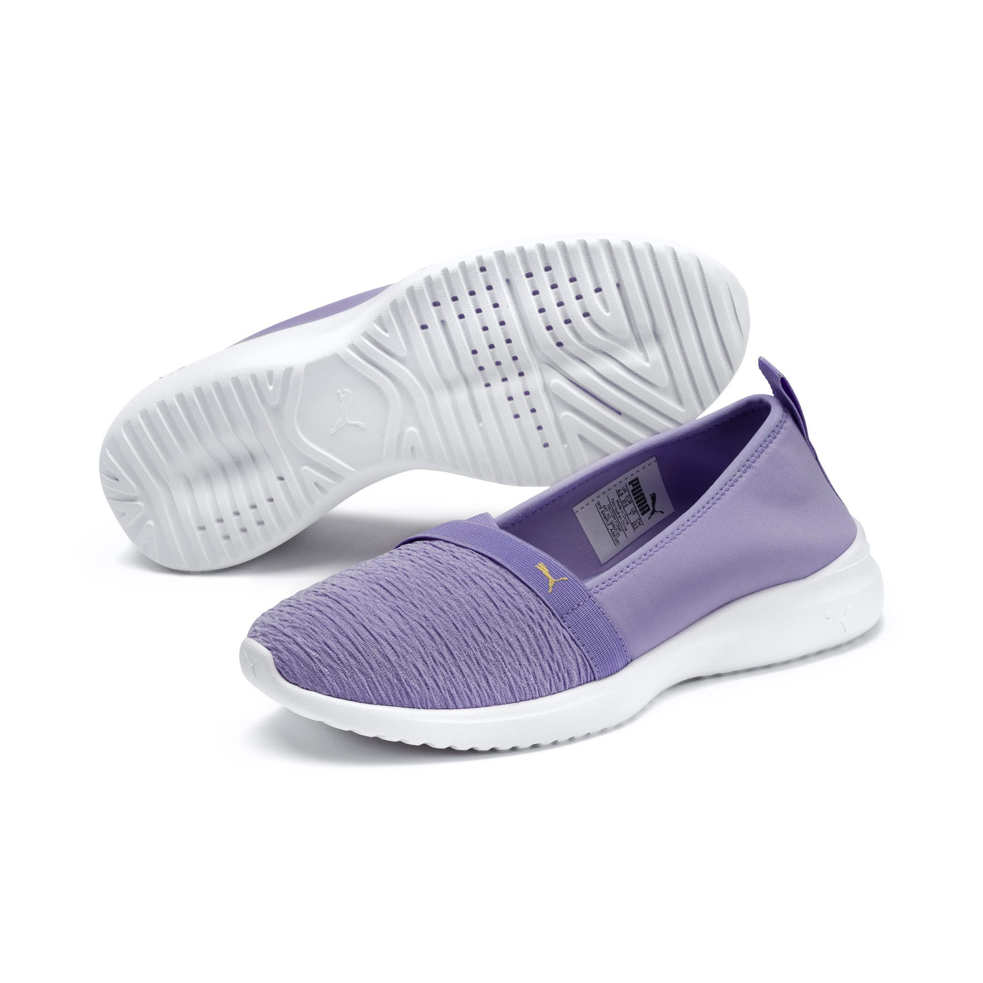 Thumbnail 2 of Adelina Women's Ballet Shoes, Sweet Lavender-Team Gold, medium