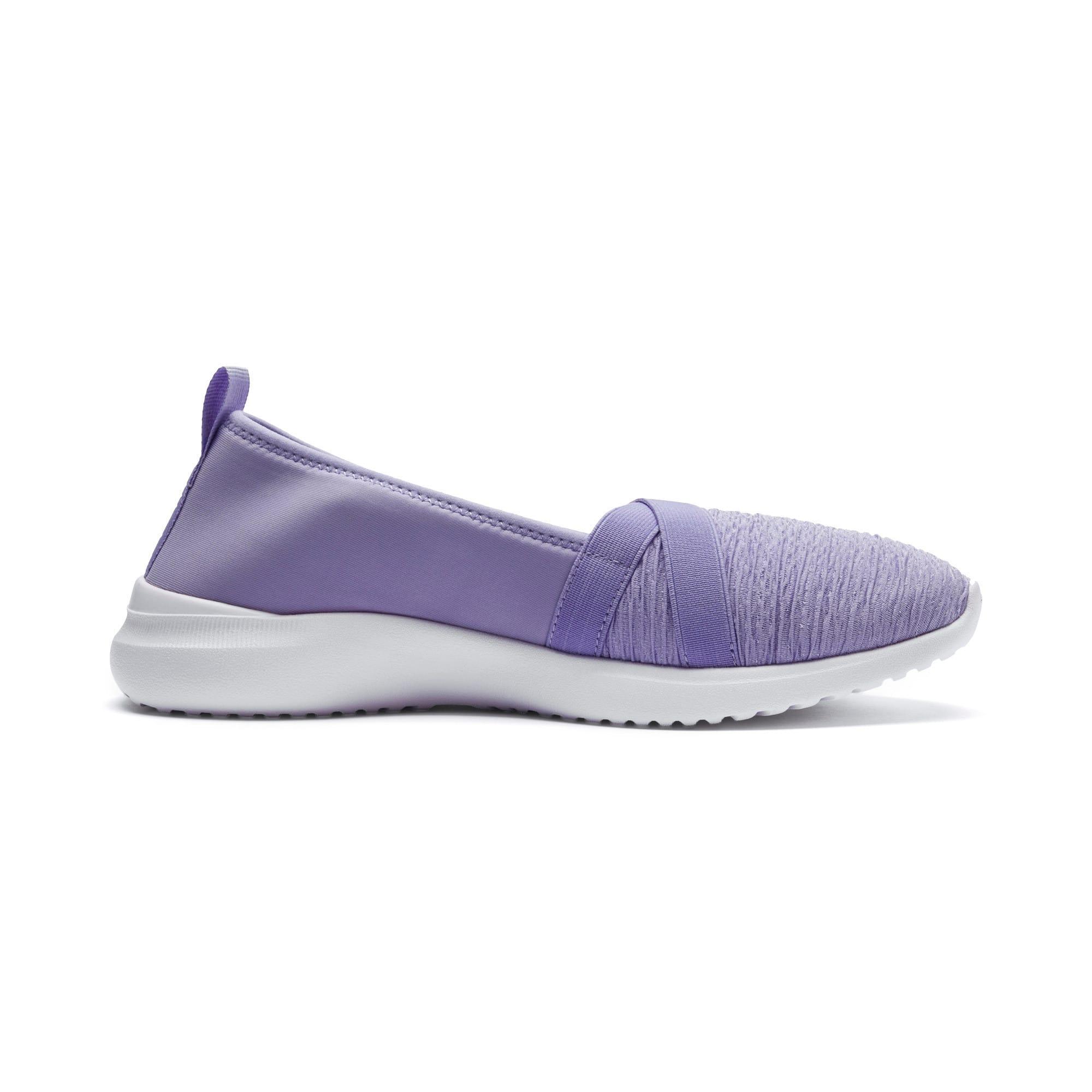 Thumbnail 5 of Adelina Women's Ballet Shoes, Sweet Lavender-Team Gold, medium