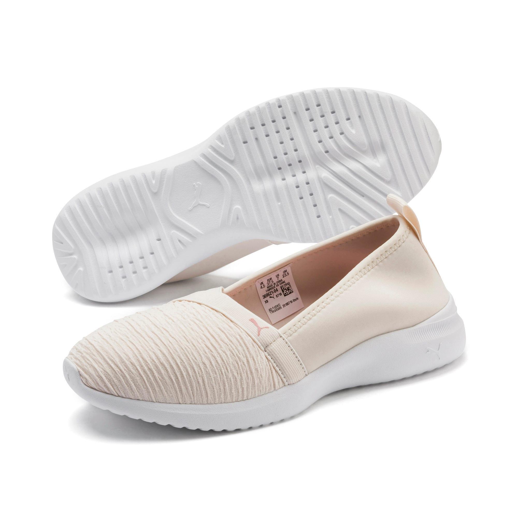 Thumbnail 3 of Adelina Women's Ballet Shoes, Pastel Parchment-B Rose-Wht, medium