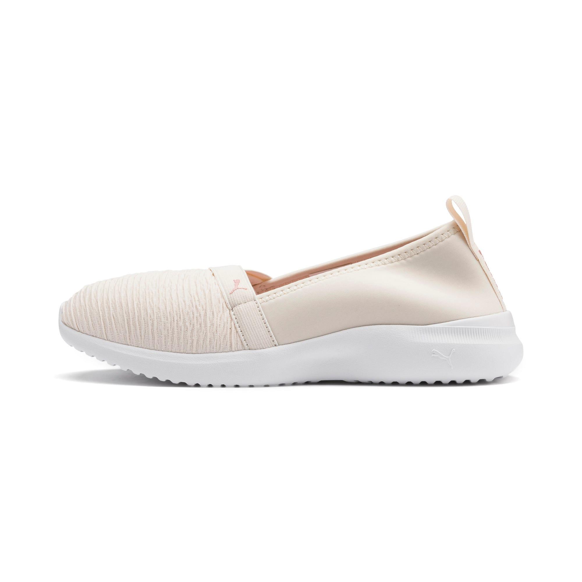 Thumbnail 1 of Adelina Women's Ballet Shoes, Pastel Parchment-B Rose-Wht, medium