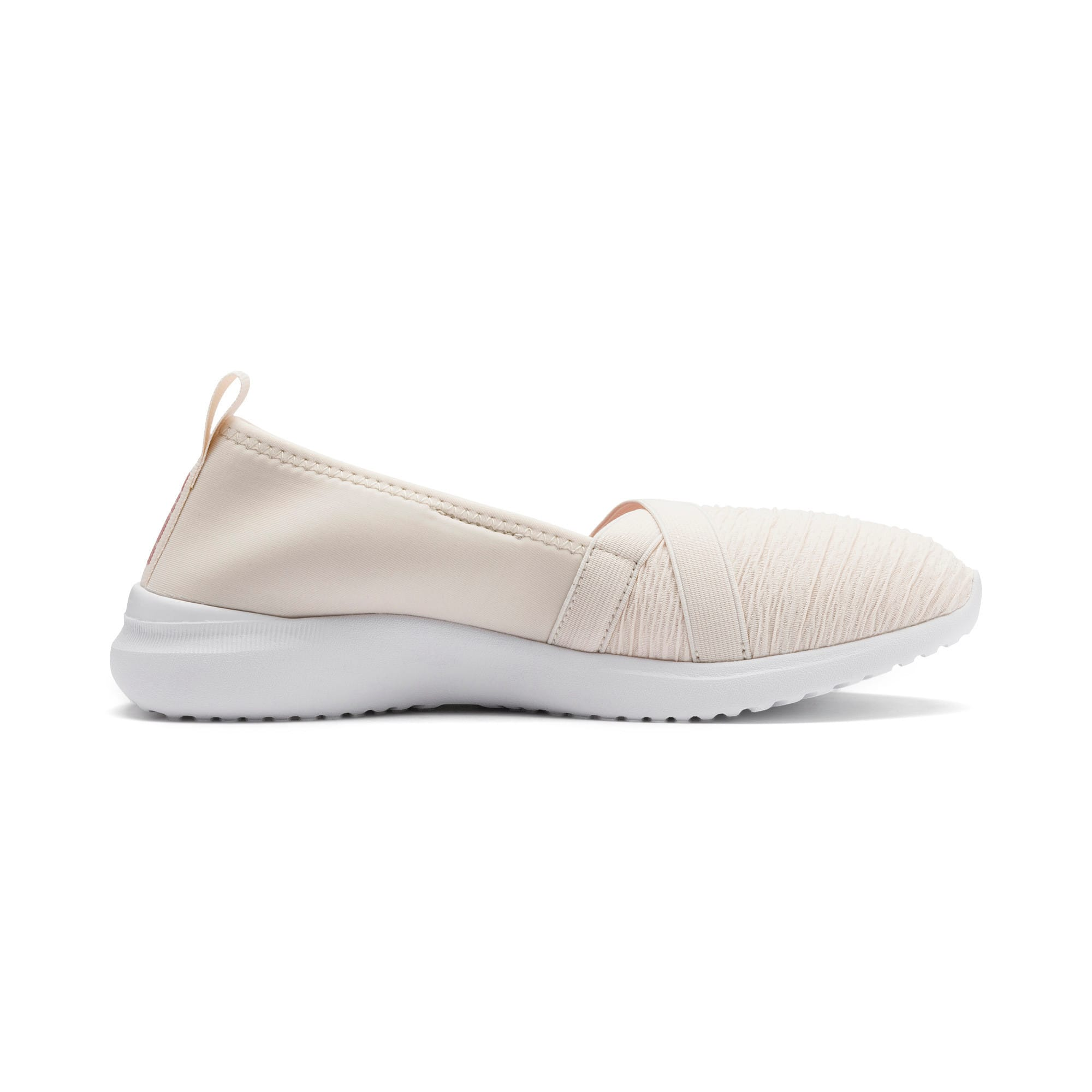 Thumbnail 6 of Adelina Women's Ballet Shoes, Pastel Parchment-B Rose-Wht, medium