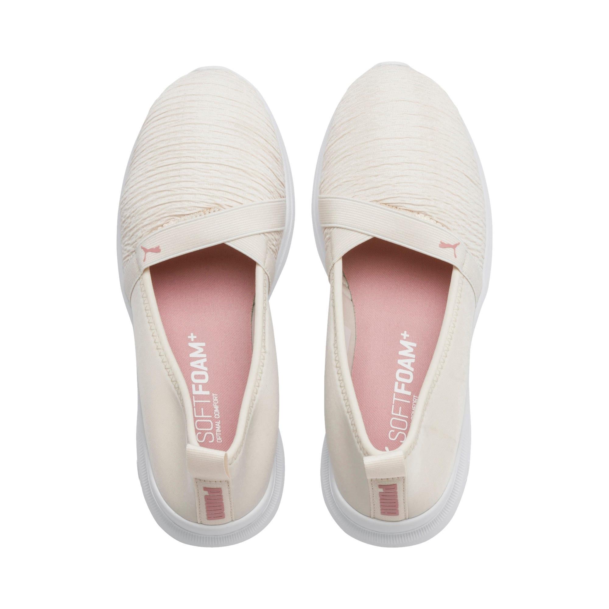 Thumbnail 7 of Adelina Women's Ballet Shoes, Pastel Parchment-B Rose-Wht, medium