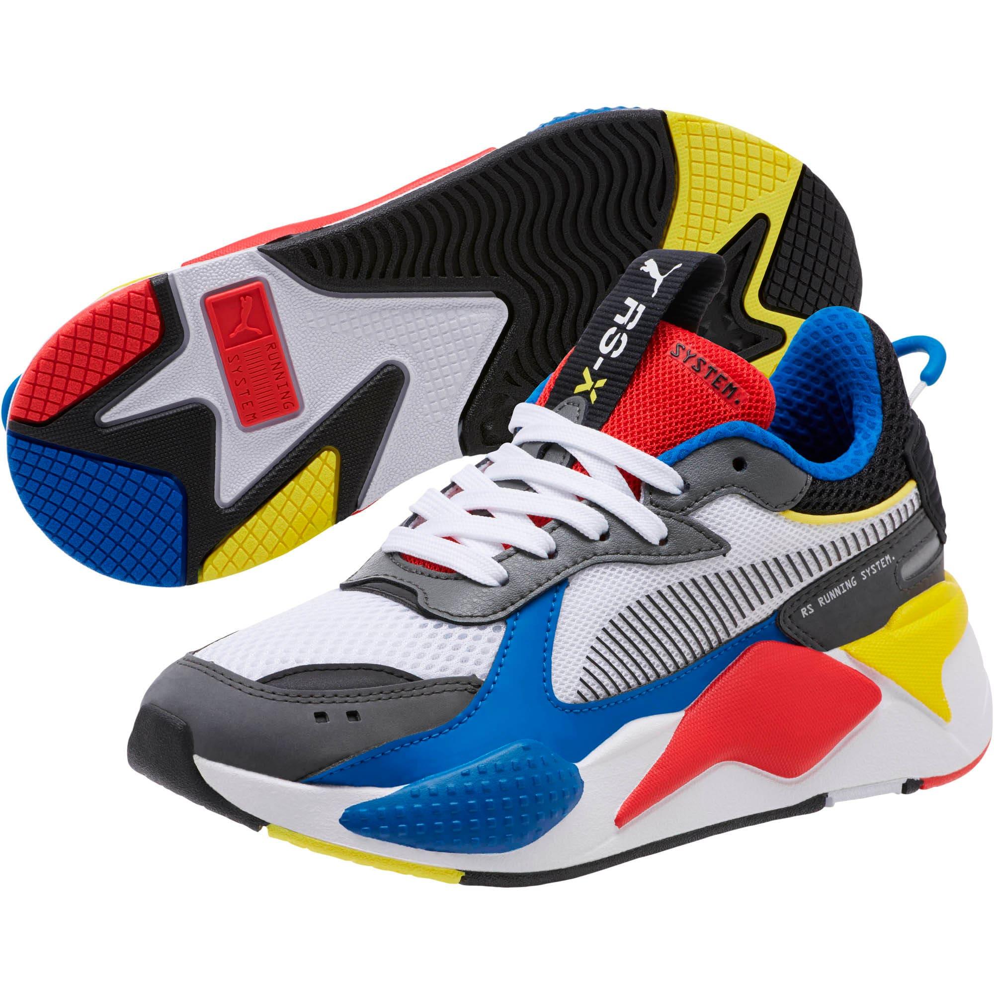 Vignette 2 de Espadrilles RS-X Toys, enfant, Blanc Puma-royal Puma, moyen