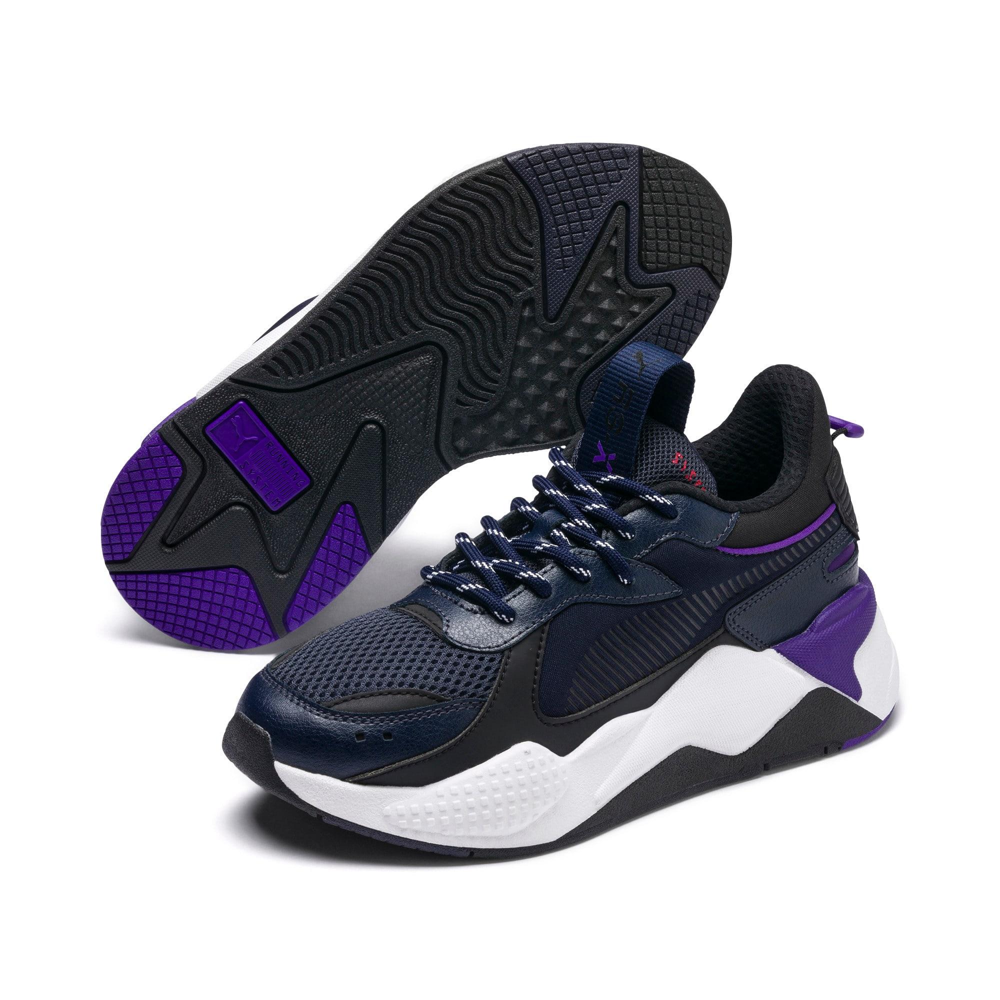 Thumbnail 2 of RS-X Tracks Sneakers JR, Puma New Navy-Puma Black, medium