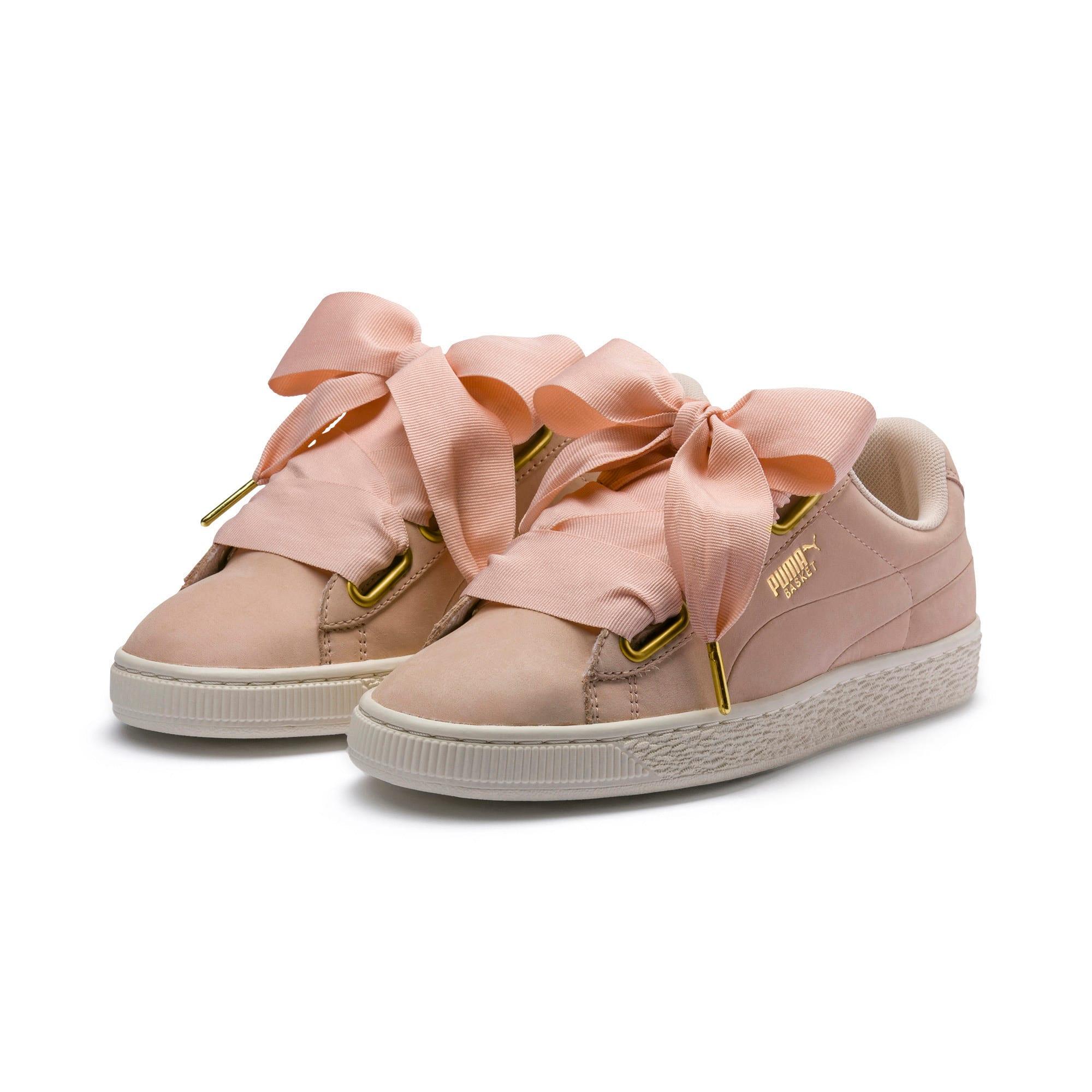 Thumbnail 5 of Basket Heart Soft Women's Sneakers, Cream Tan-Marshmallow, medium