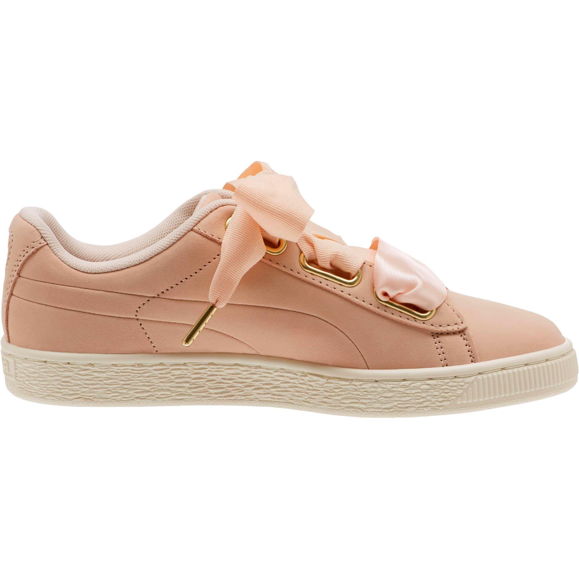Thumbnail 2 of Basket Heart Soft Women's Sneakers, Cream Tan-Marshmallow, medium
