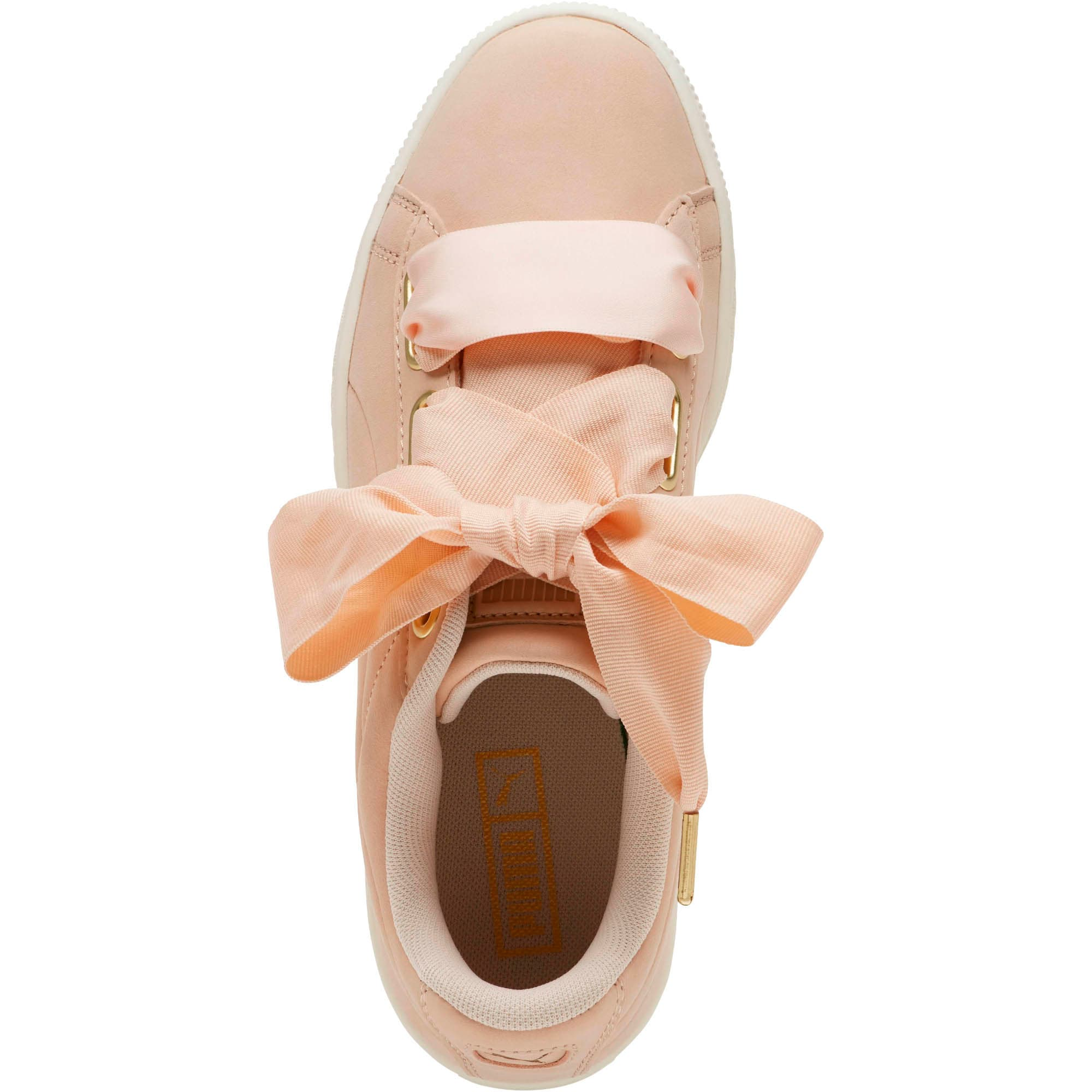 Thumbnail 4 of Basket Heart Soft Women's Sneakers, Cream Tan-Marshmallow, medium