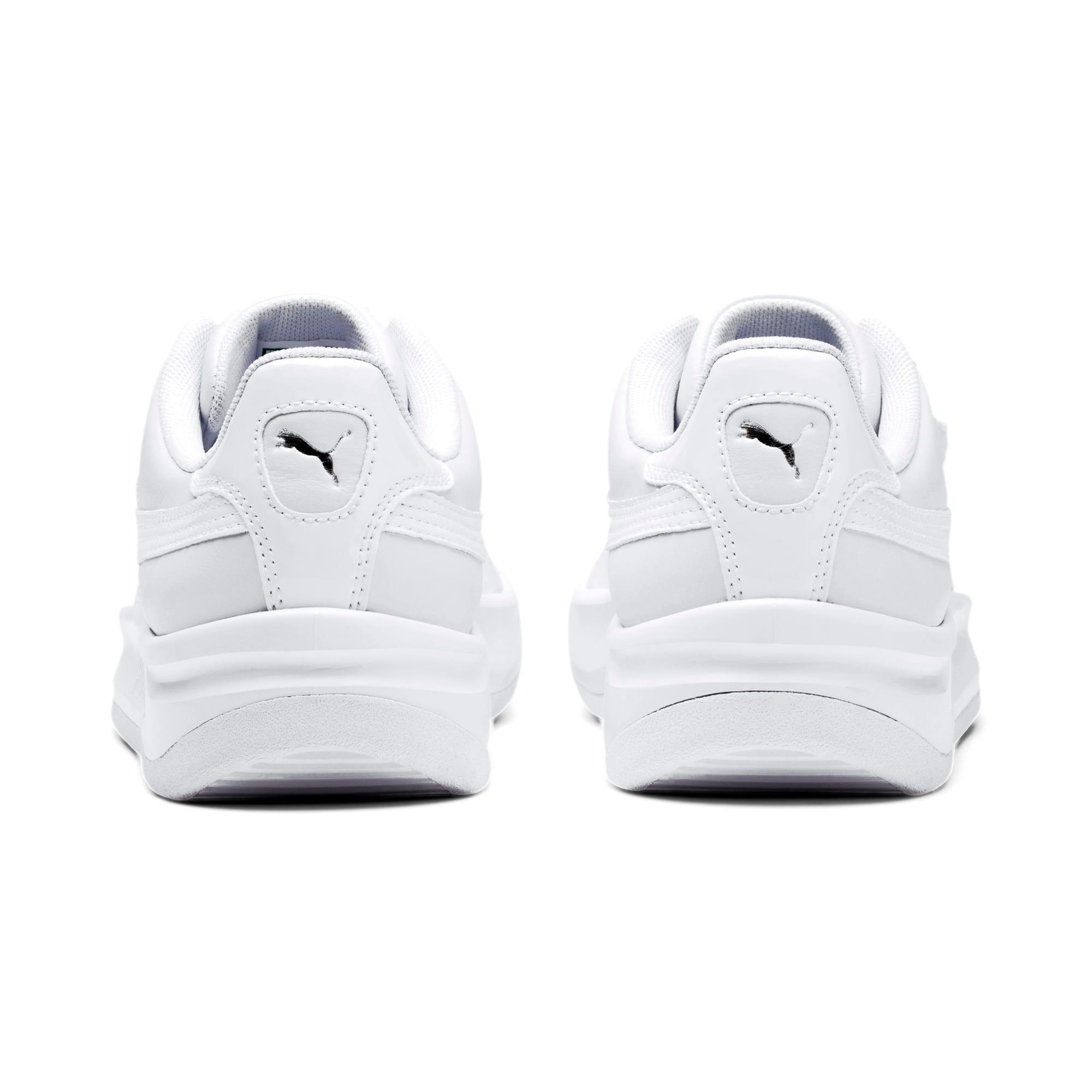 Thumbnail 4 of California Monochrome Women's Sneakers, Puma White-Puma Silver, medium