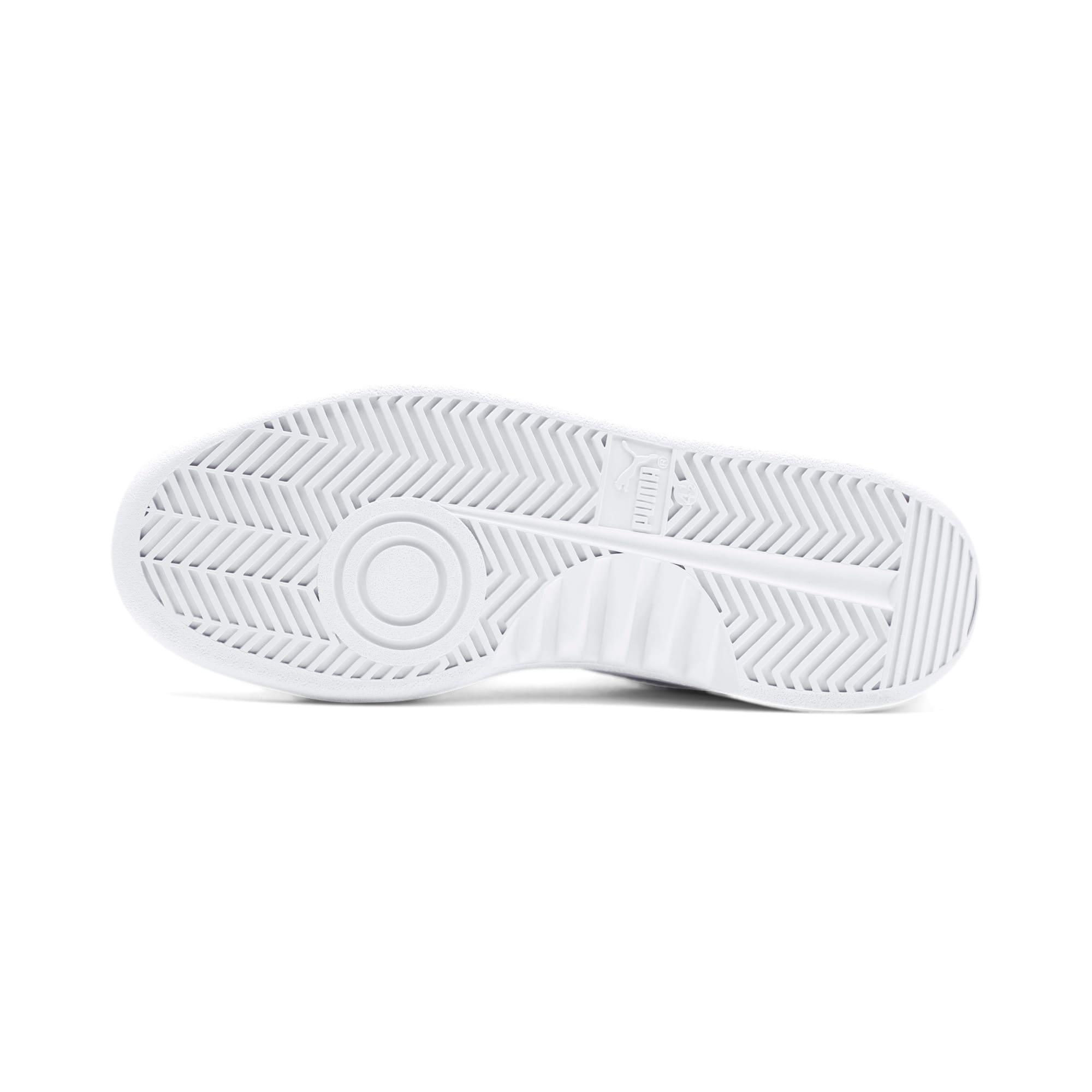 Thumbnail 5 of California Monochrome Women's Sneakers, Puma White-Puma Silver, medium
