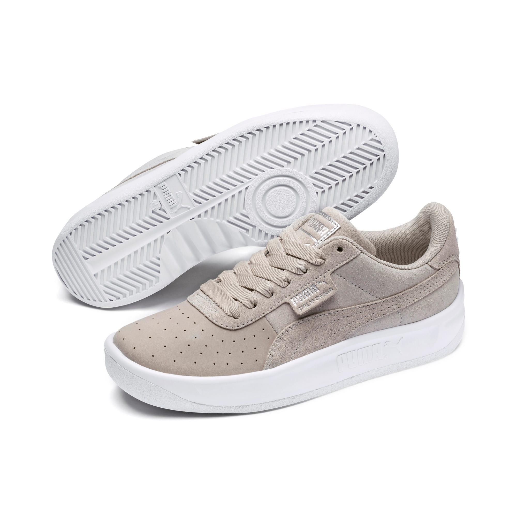 Thumbnail 3 of California Shimmer Damen Sneaker, Silver Gray-Puma Silver, medium