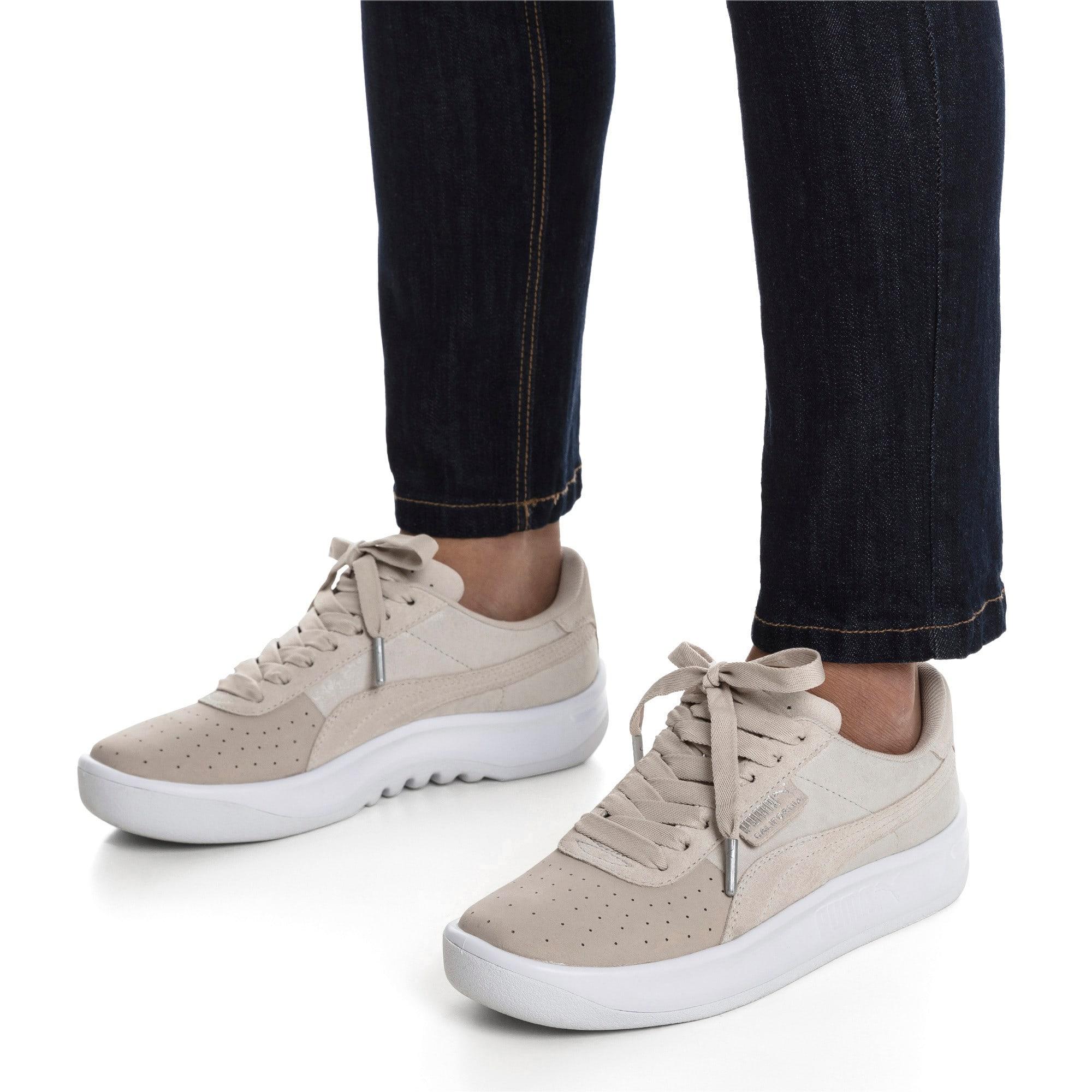 Thumbnail 2 of California Shimmer Damen Sneaker, Silver Gray-Puma Silver, medium