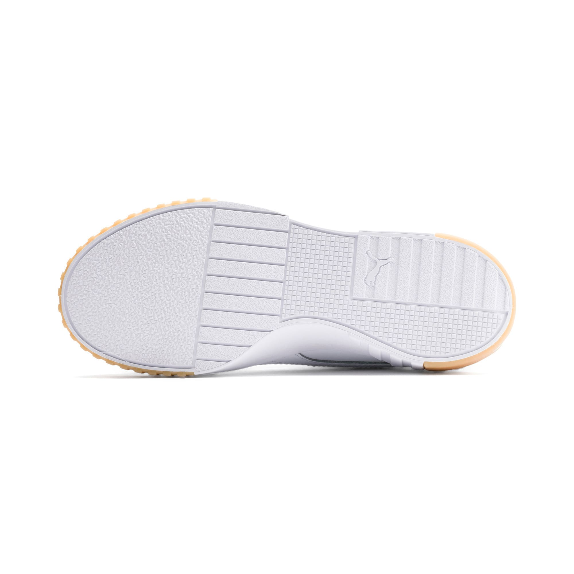 Thumbnail 4 of Cali Exotic Damen Sneaker, Puma White-Puma White, medium