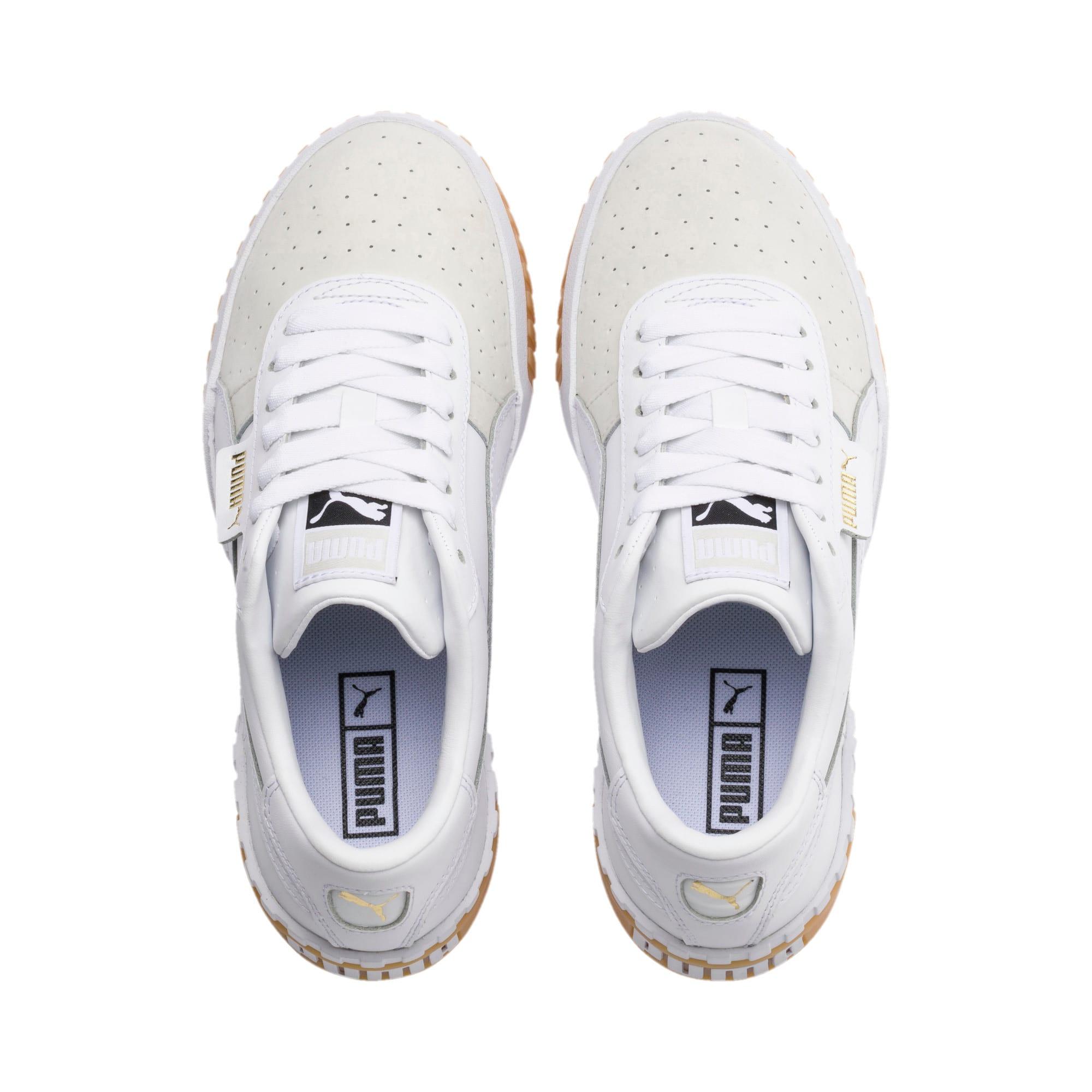 Thumbnail 6 of Cali Exotic Damen Sneaker, Puma White-Puma White, medium