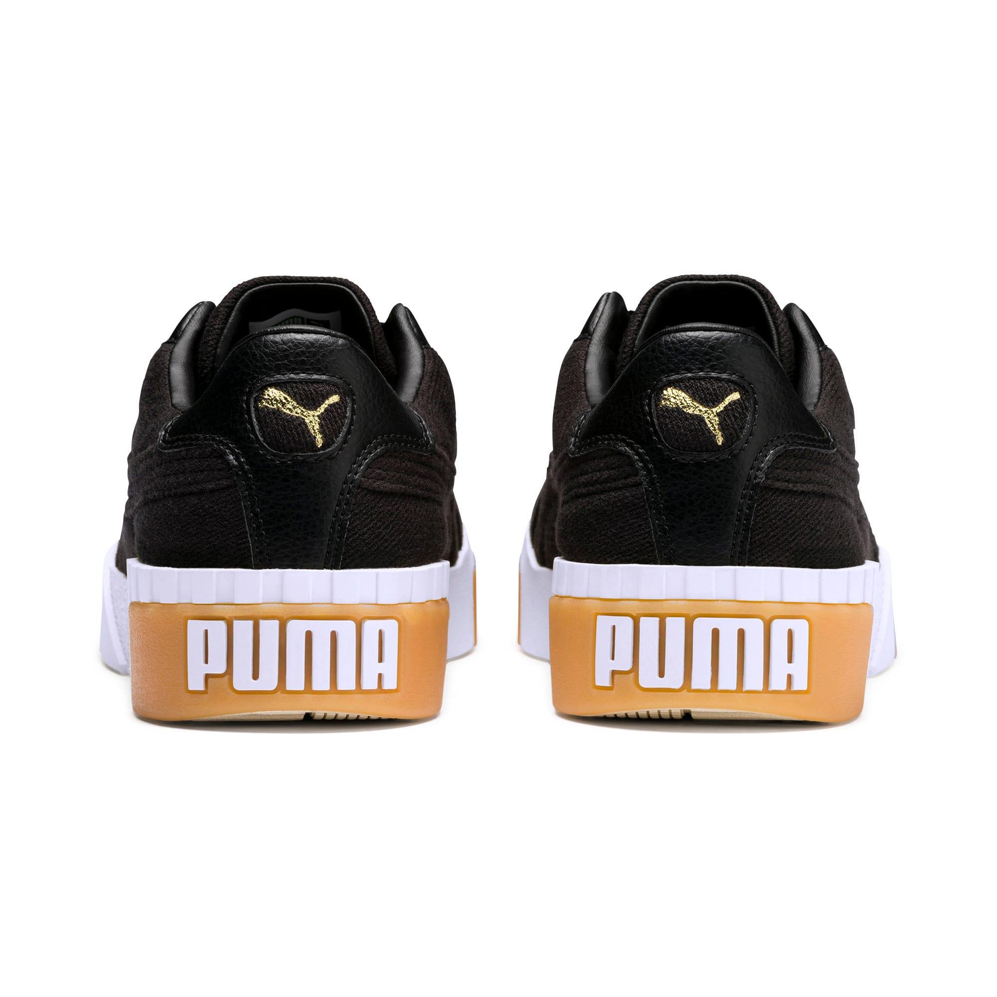 Thumbnail 3 of Cali Exotic Women's Trainers, Puma Black-Puma Black, medium