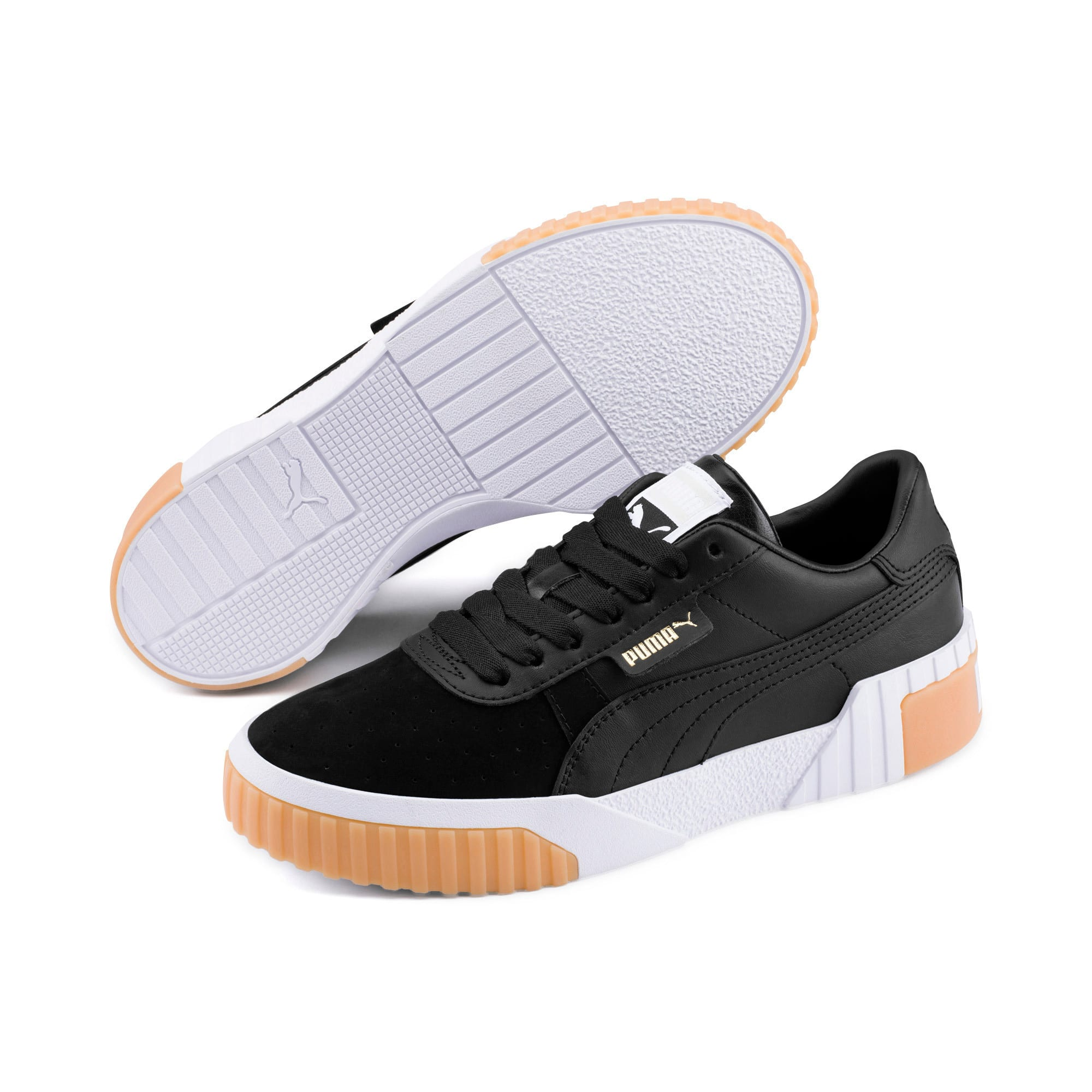 Thumbnail 2 of Cali Exotic Women's Sneakers, Puma Black-Puma Black, medium