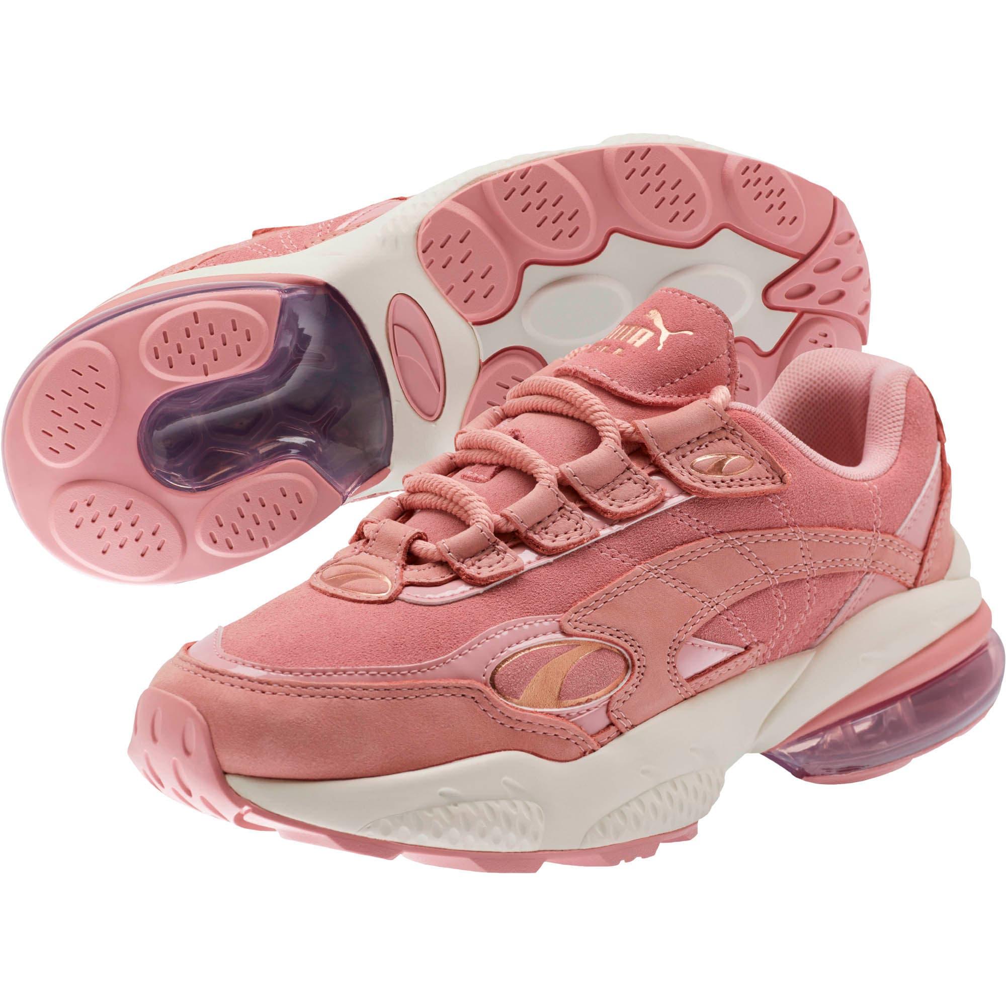 Thumbnail 2 of CELL Venom Patent Women's Sneakers, Bridal Rose-Marshmallow, medium