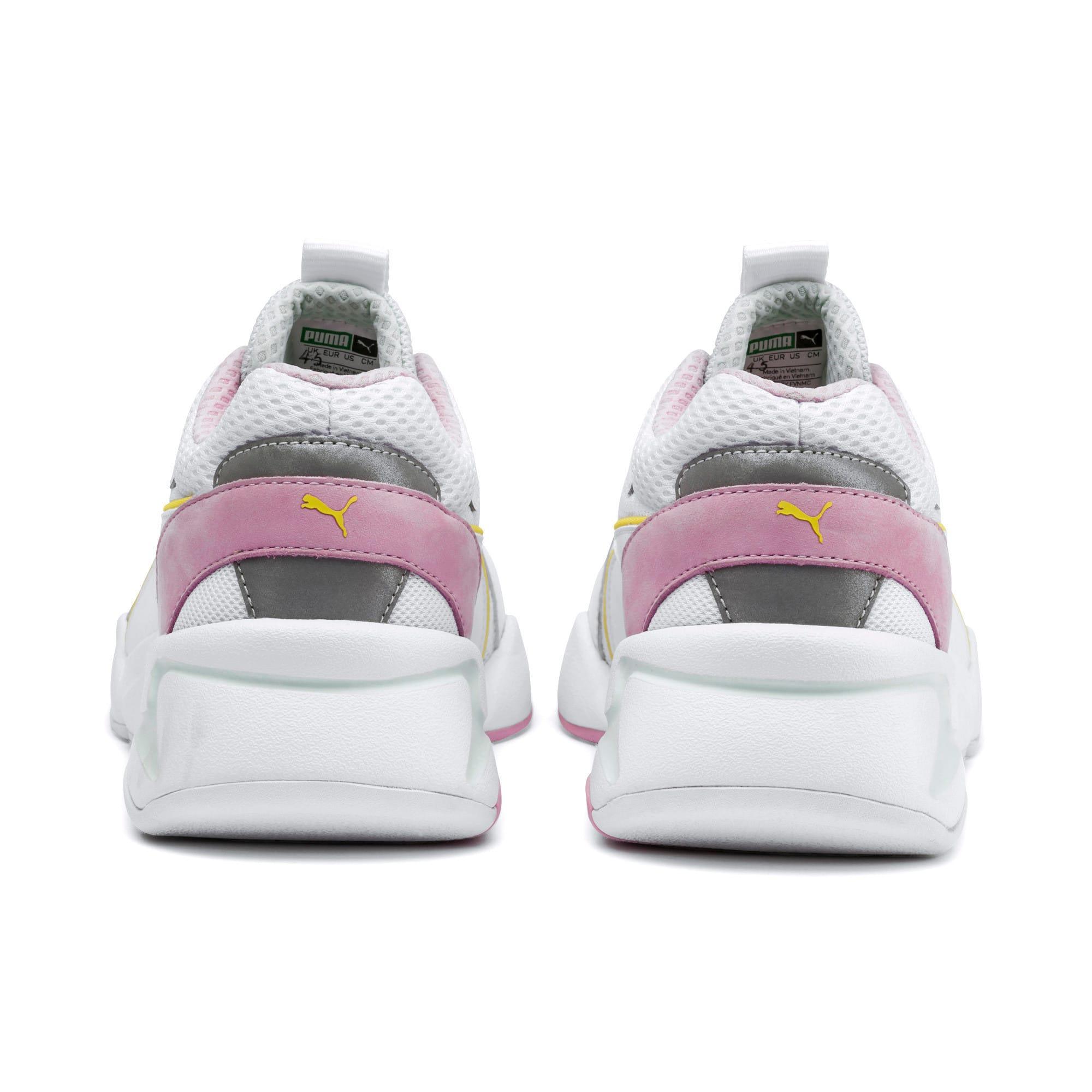 Thumbnail 4 of Nova Mesh Women's Sneakers, Puma White-Fair Aqua, medium