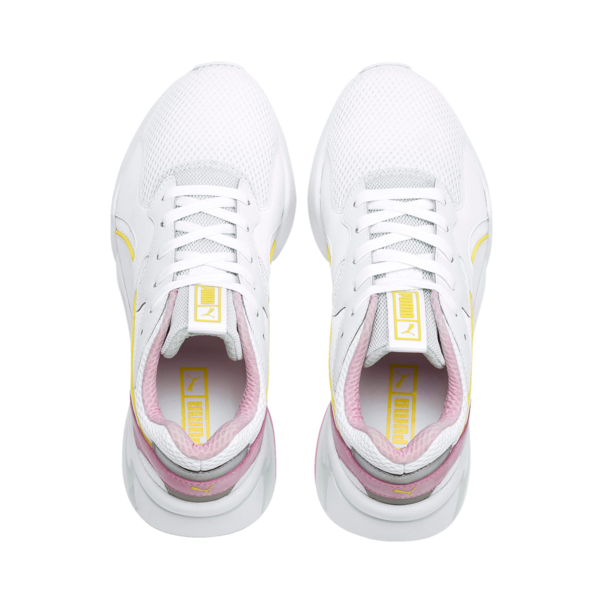 Thumbnail 7 of Nova Mesh Women's Sneakers, Puma White-Fair Aqua, medium
