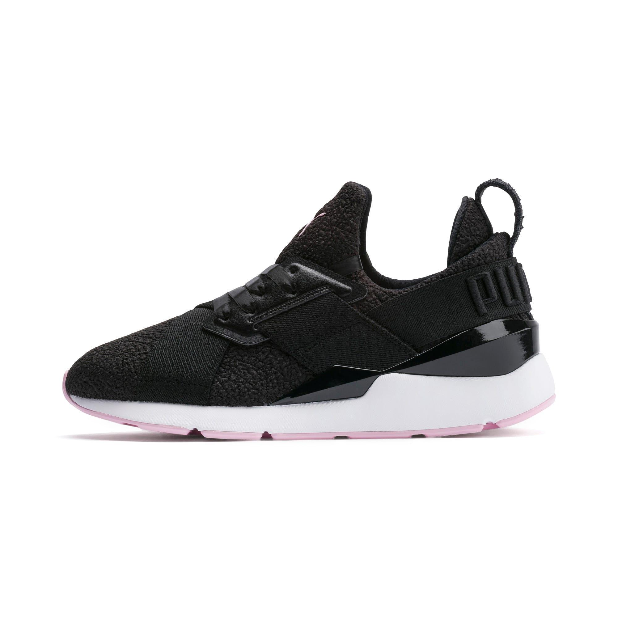 Thumbnail 1 of Muse TZ Damen Sneaker, Puma Black-Pale Pink, medium