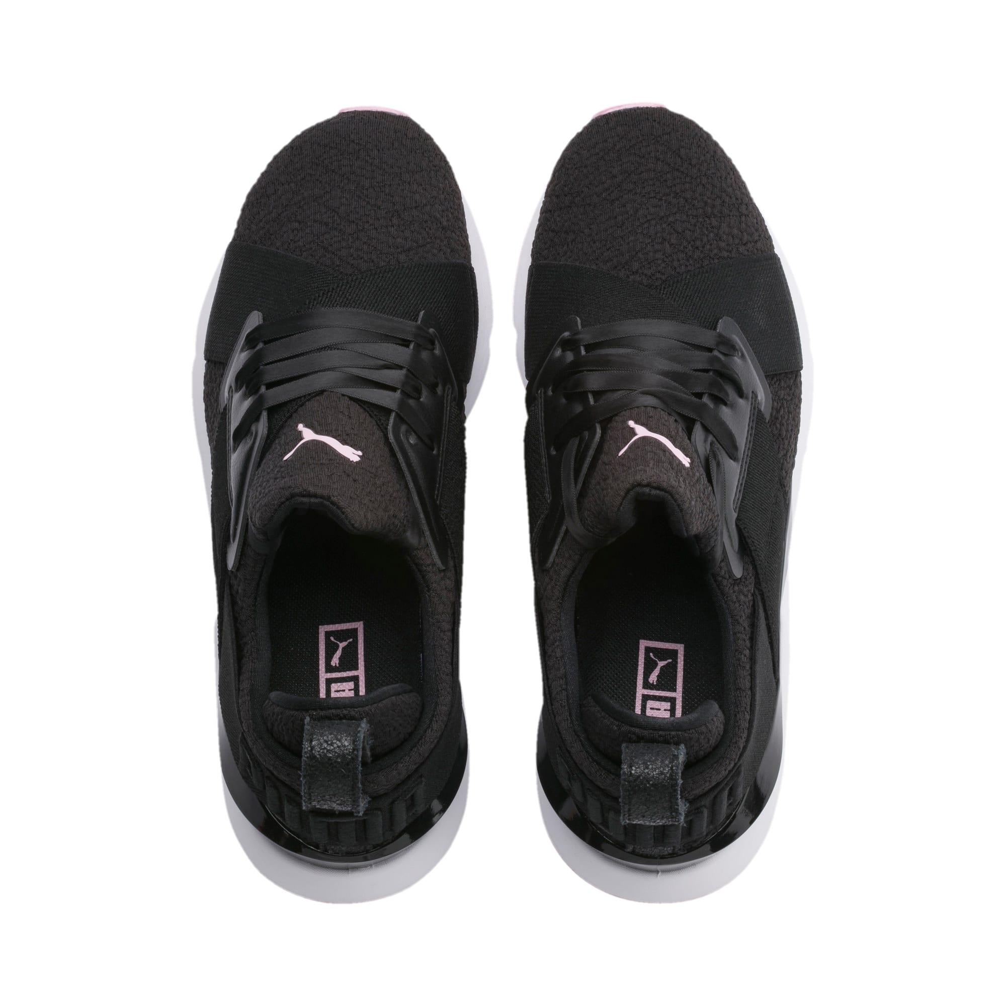 Thumbnail 6 of Muse TZ Damen Sneaker, Puma Black-Pale Pink, medium