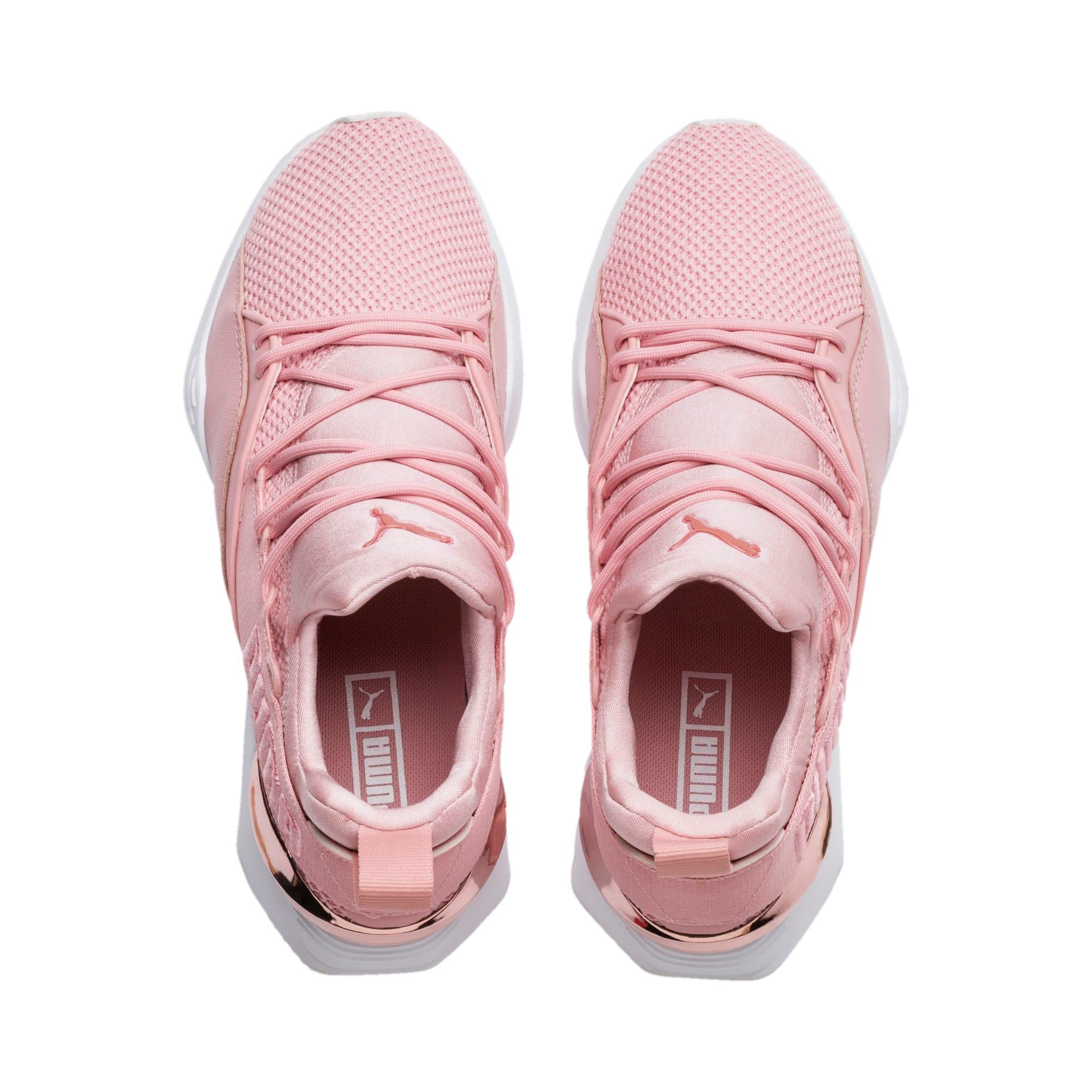 Thumbnail 6 of Muse Maia Metallic Rose Women's Sneakers, Bridal Rose-Rose Gold, medium