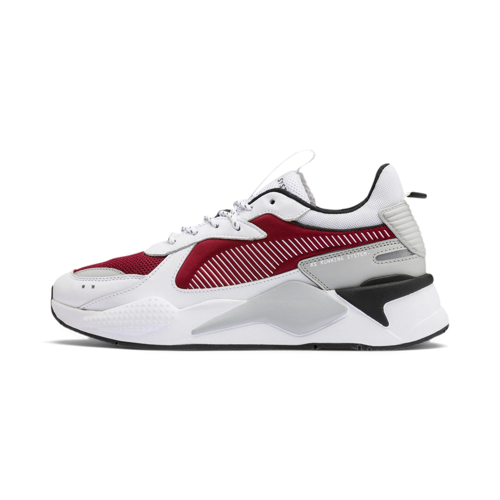 Thumbnail 1 of Basket RS-X, Puma White-Rhubarb, medium