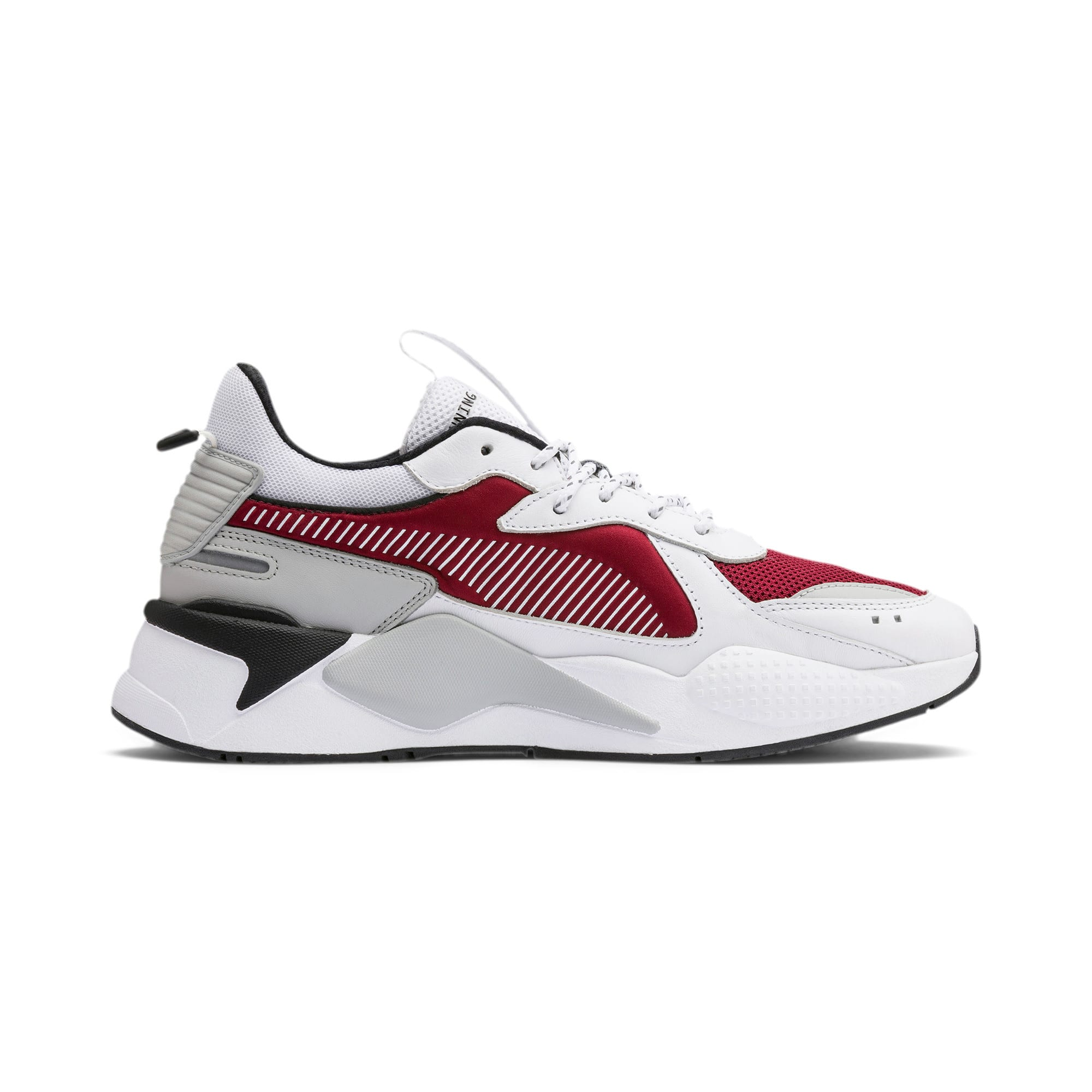 RS-X Trainers, Puma White-Rhubarb, large