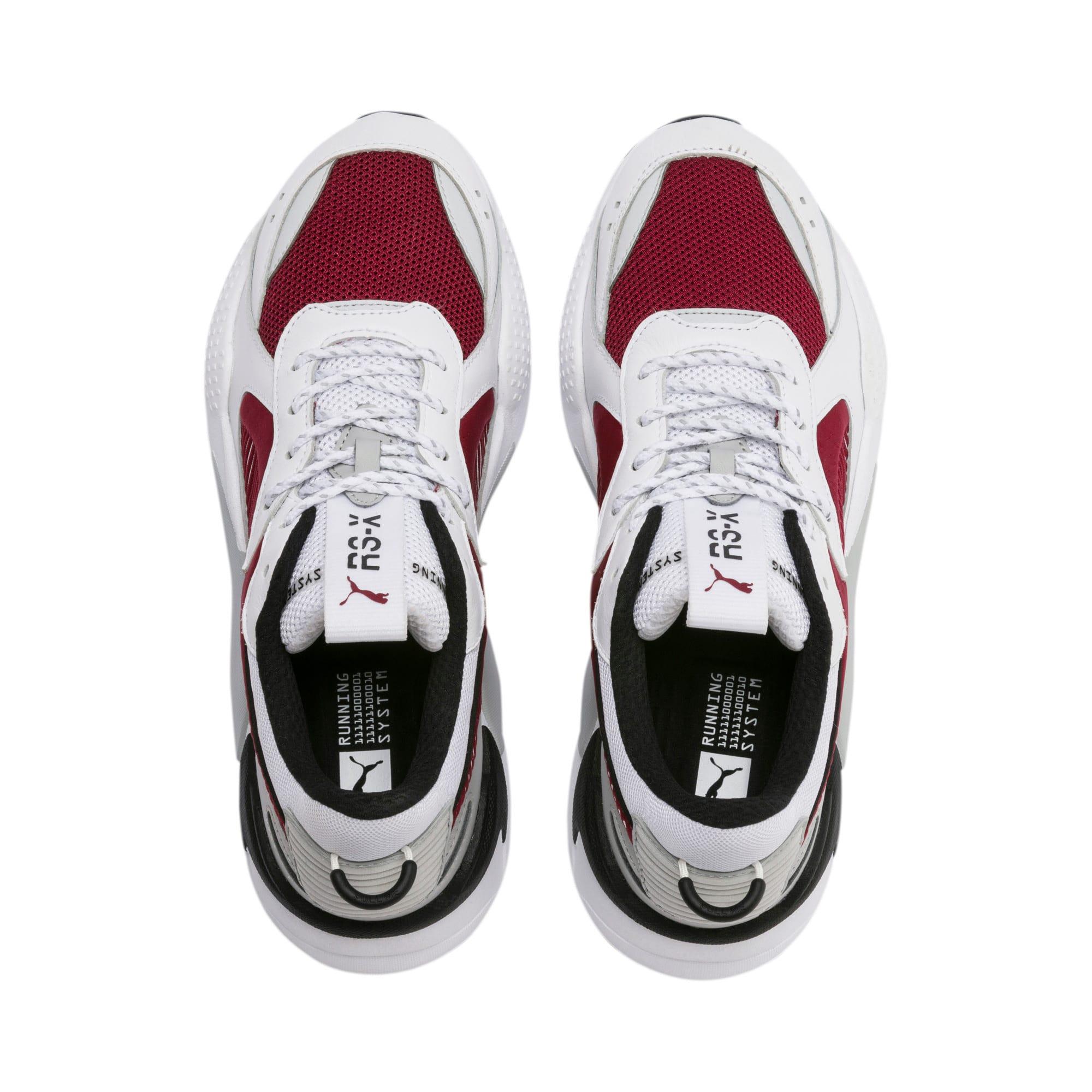 Thumbnail 7 of Basket RS-X, Puma White-Rhubarb, medium