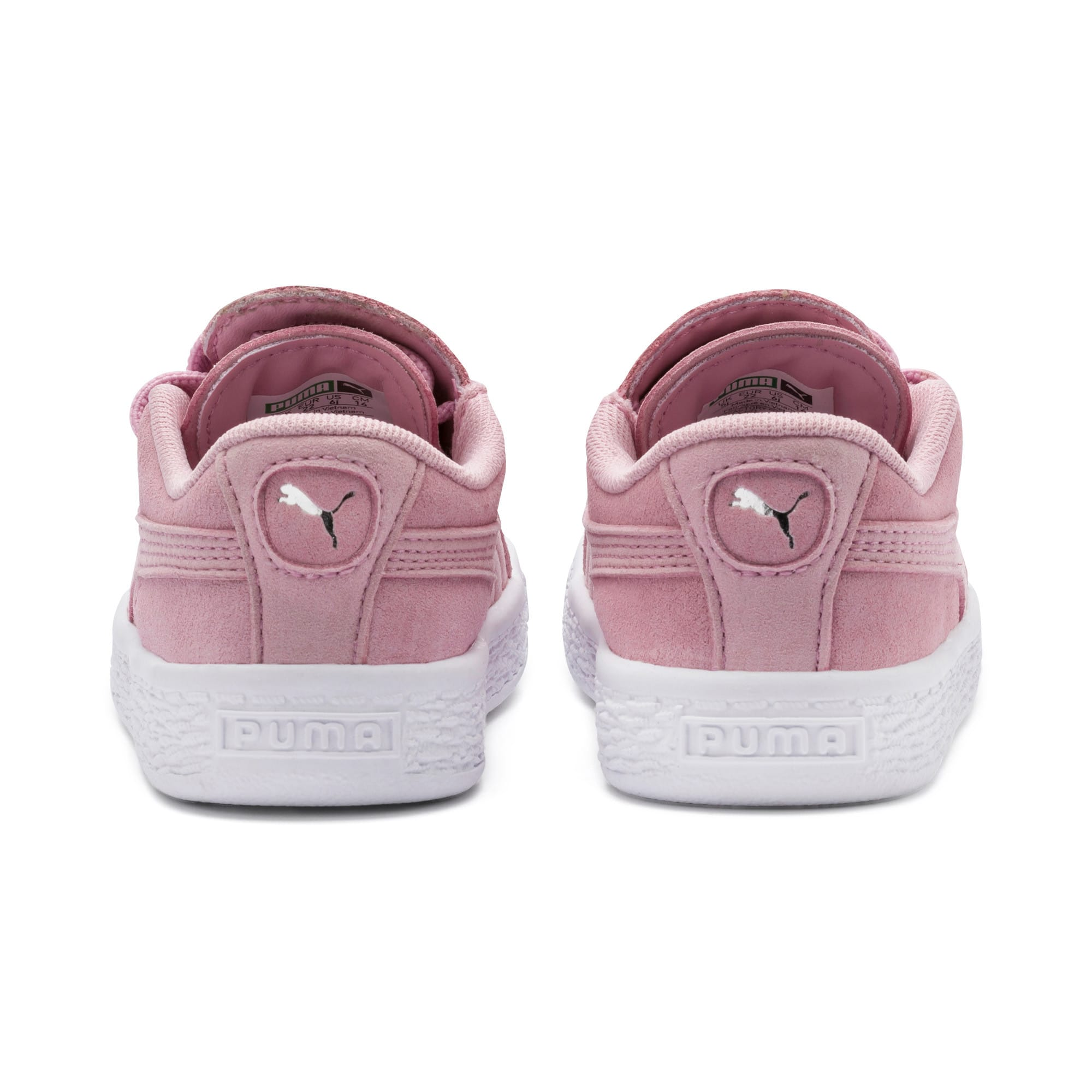 Miniatura 3 de Zapatos Suede Crush AC para niños pequeños, Pale Pink-Puma Silver, mediano
