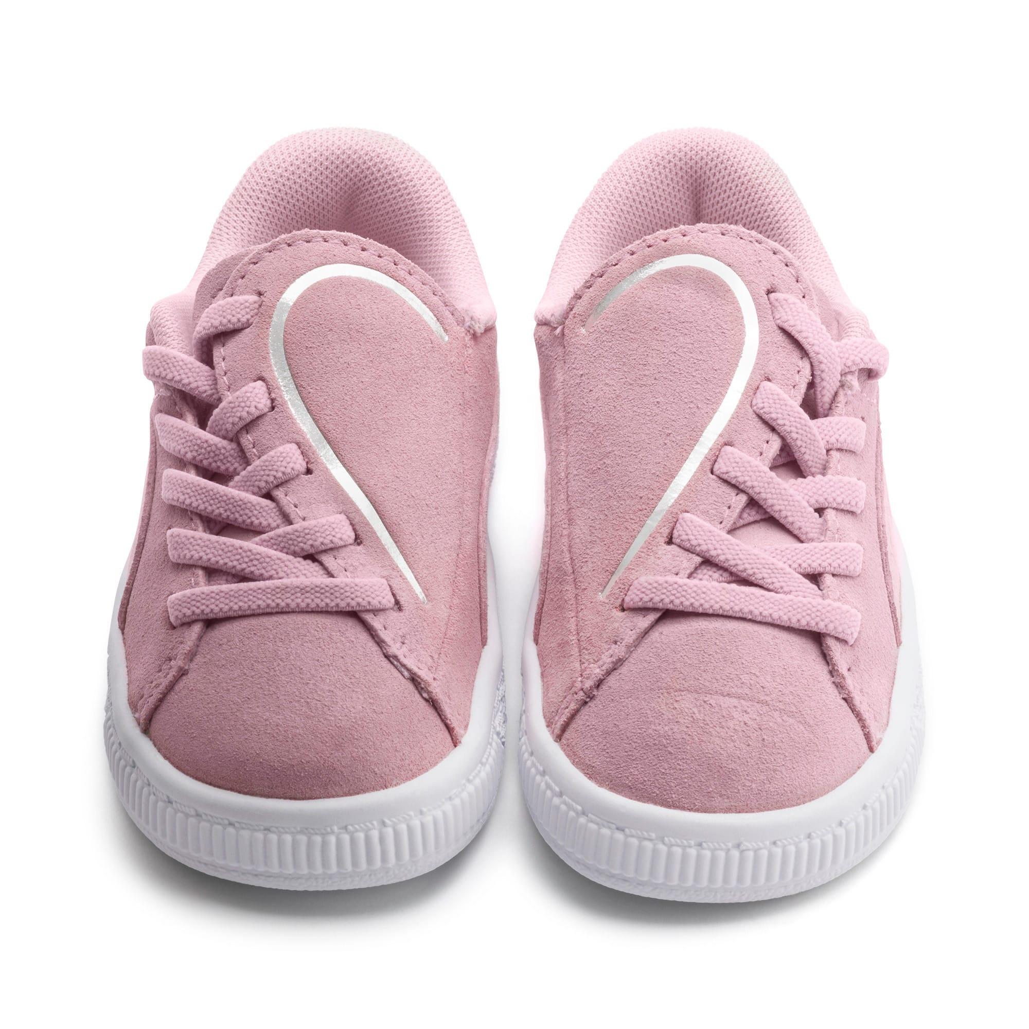 Miniatura 7 de Zapatos Suede Crush AC para niños pequeños, Pale Pink-Puma Silver, mediano
