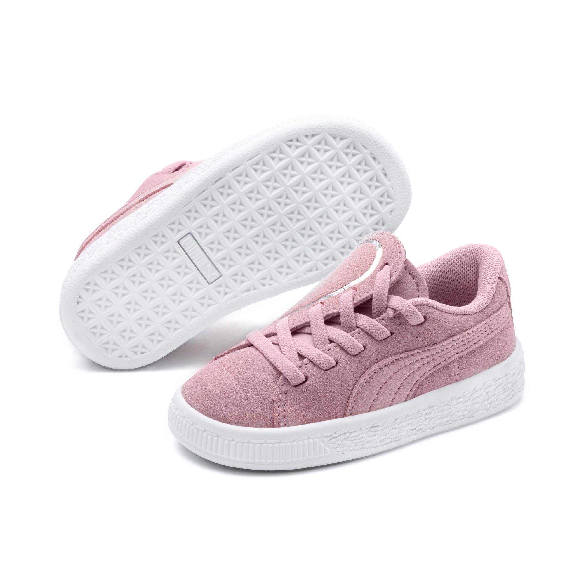 Miniatura 2 de Zapatos Suede Crush AC para niños pequeños, Pale Pink-Puma Silver, mediano