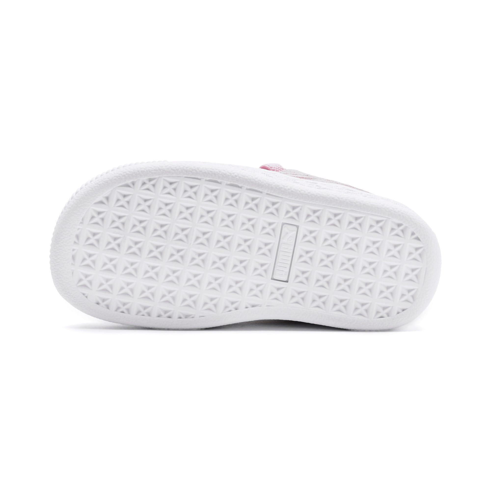 Miniatura 4 de Zapatos Suede Crush AC para niños pequeños, Pale Pink-Puma Silver, mediano