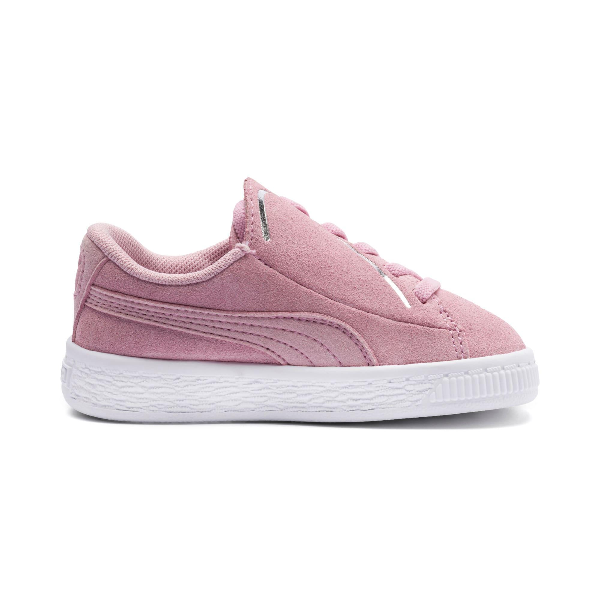 Miniatura 5 de Zapatos Suede Crush AC para niños pequeños, Pale Pink-Puma Silver, mediano