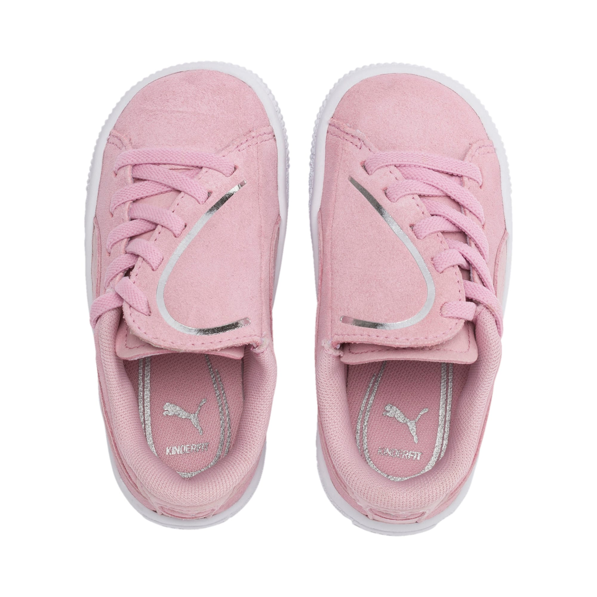 Miniatura 6 de Zapatos Suede Crush AC para niños pequeños, Pale Pink-Puma Silver, mediano