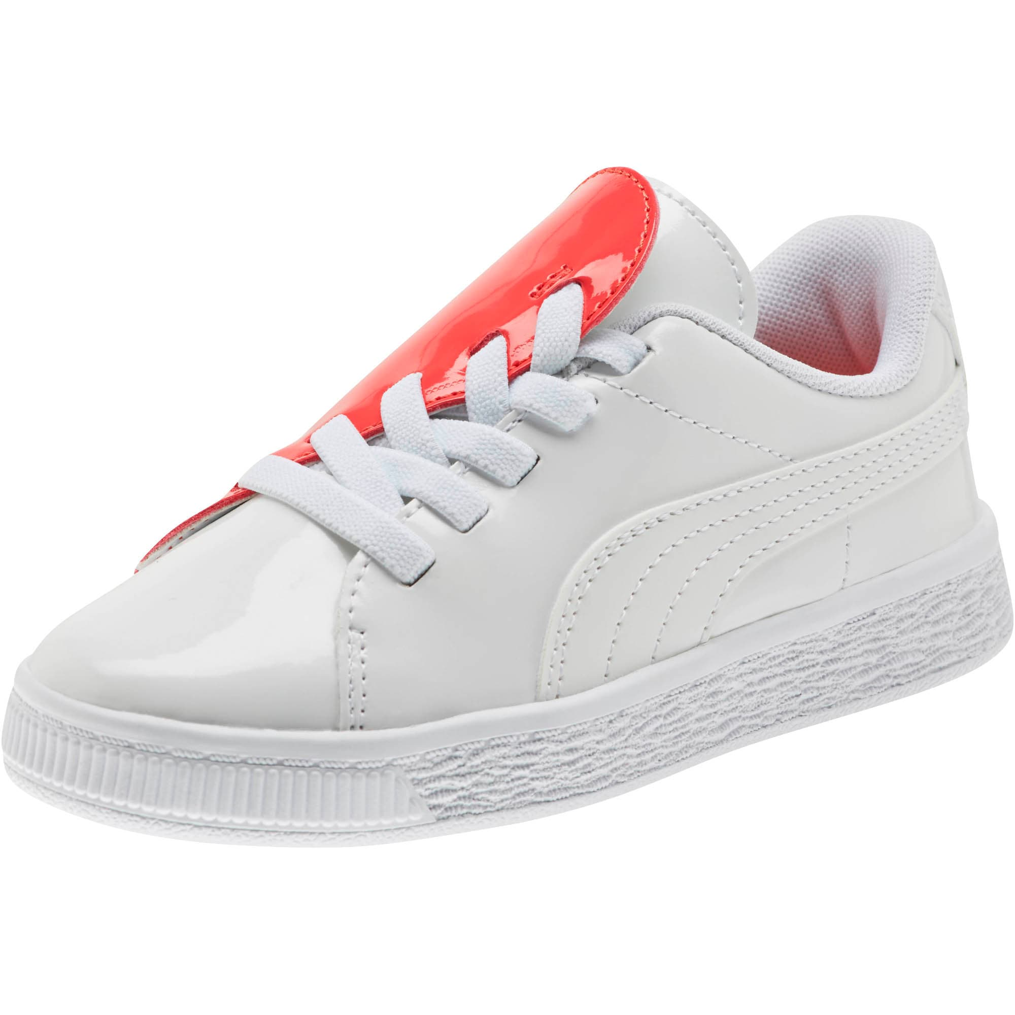best website bcfb1 402ba Basket Crush Patent AC Little Kids' Shoes