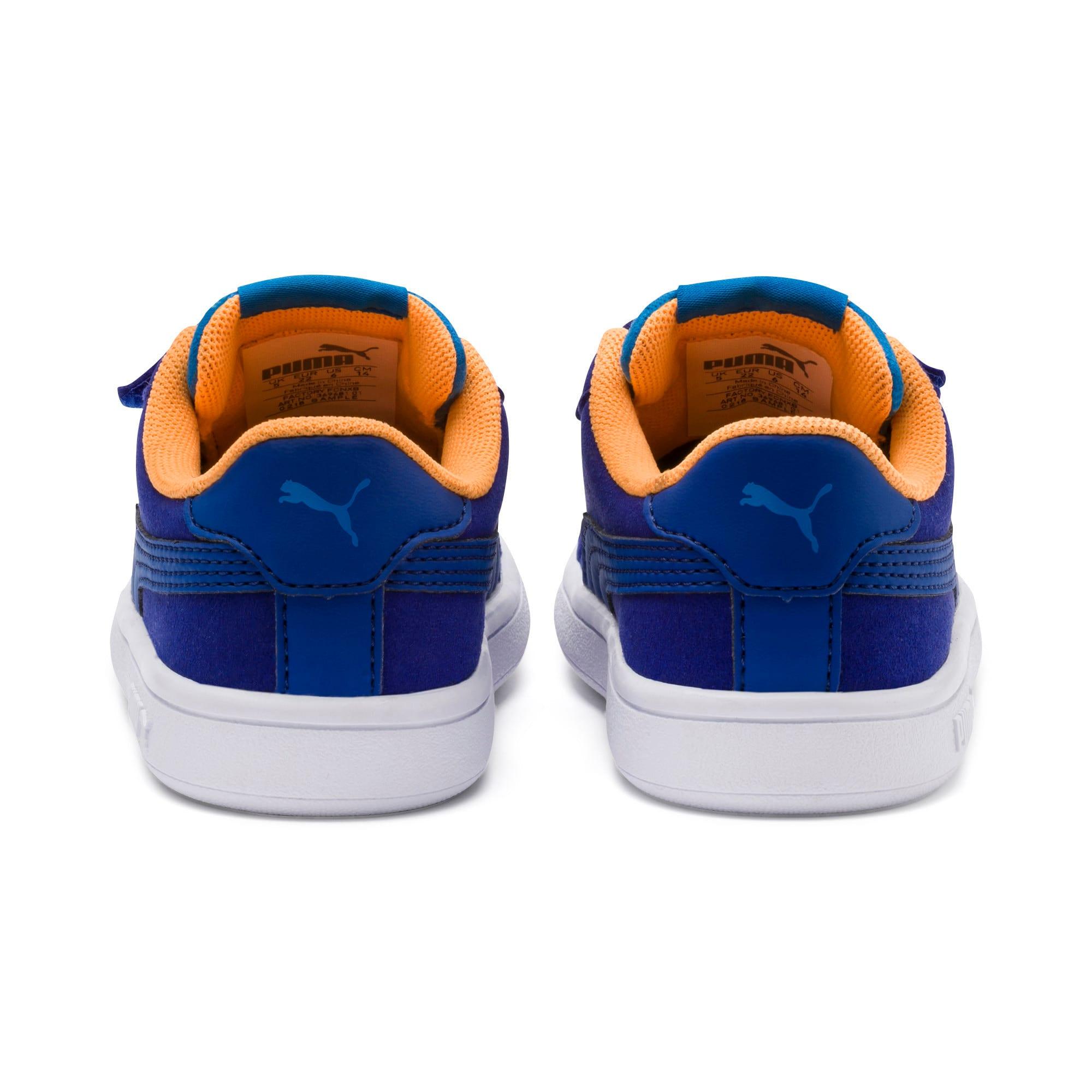 Thumbnail 3 of PUMA Smash v2 Monster Little Kids' Shoes, Sf Th Wb-I Bunting-Ornge-Wht, medium